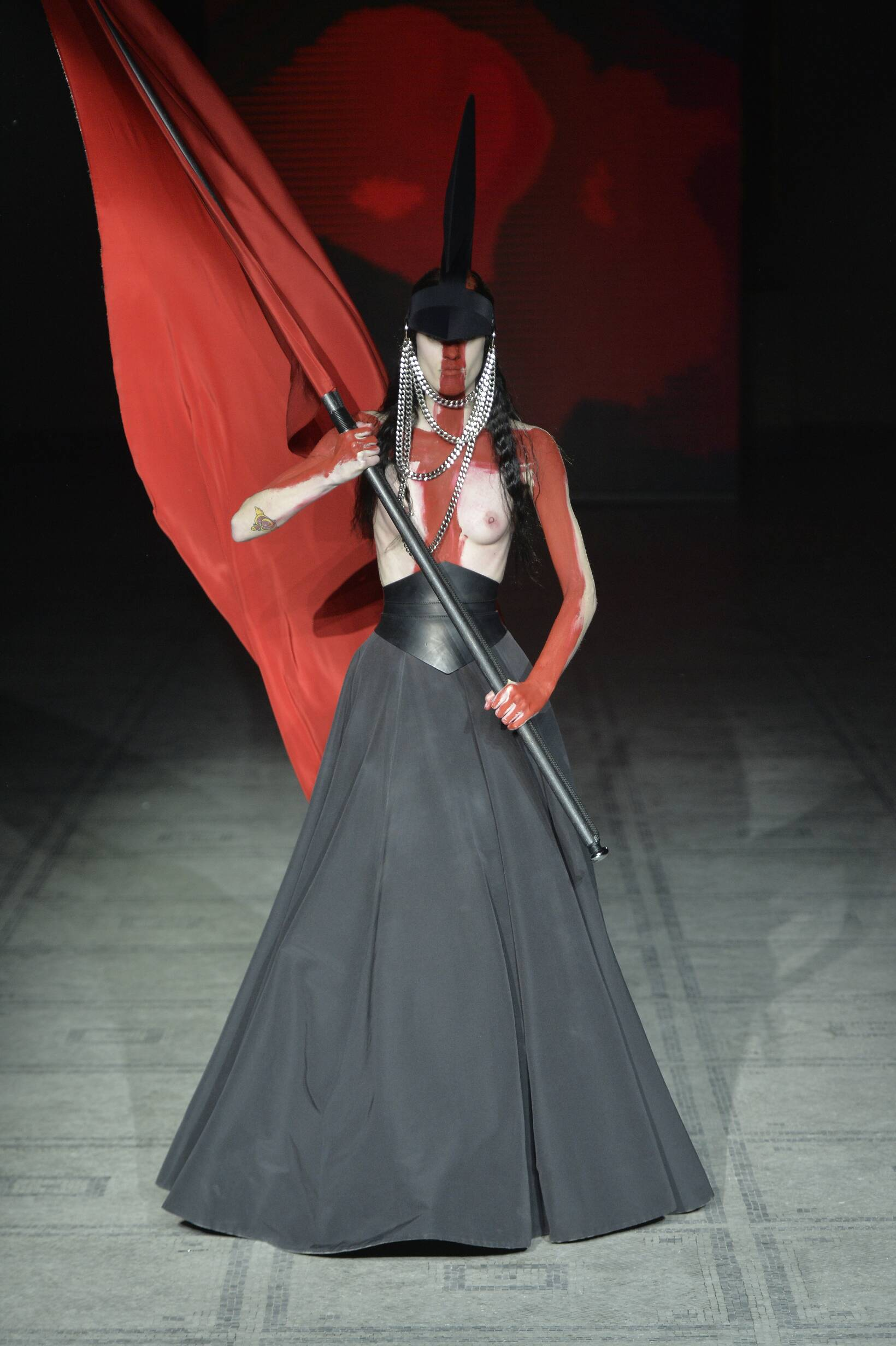 Winter 2015 Runway Gareth Pugh