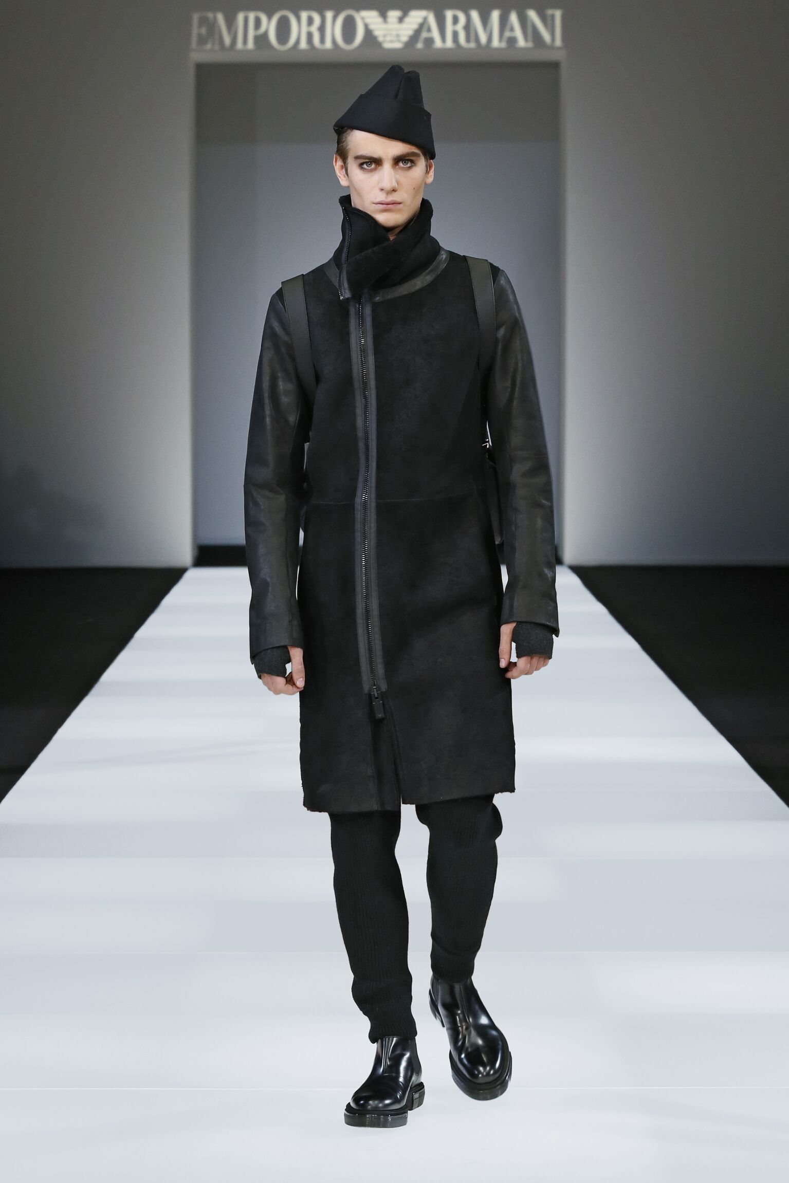 Winter Fashion Trends 2015 2016 Emporio Armani Collection