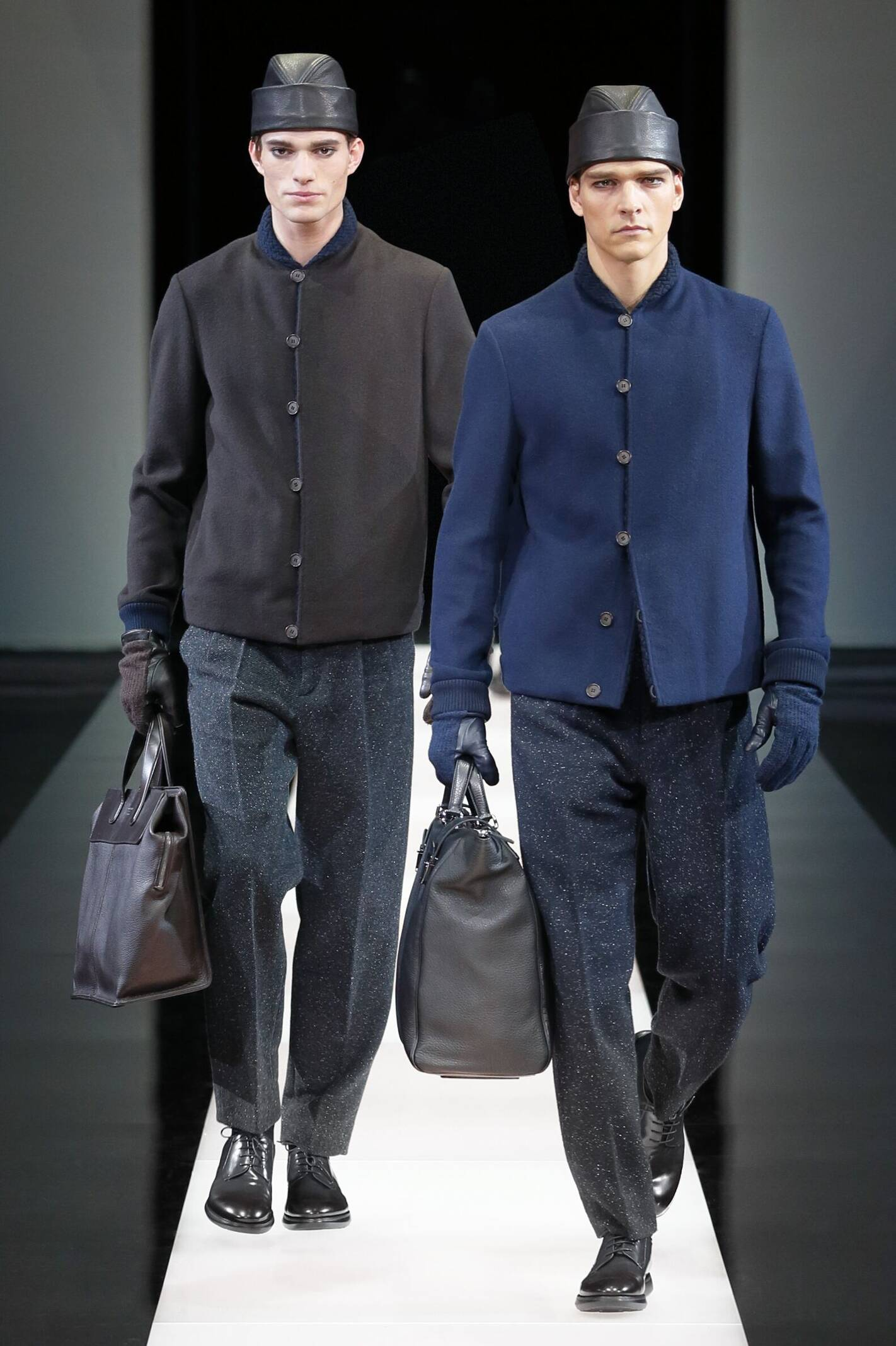 Winter Fashion Trends 2015 2016 Giorgio Armani Collection
