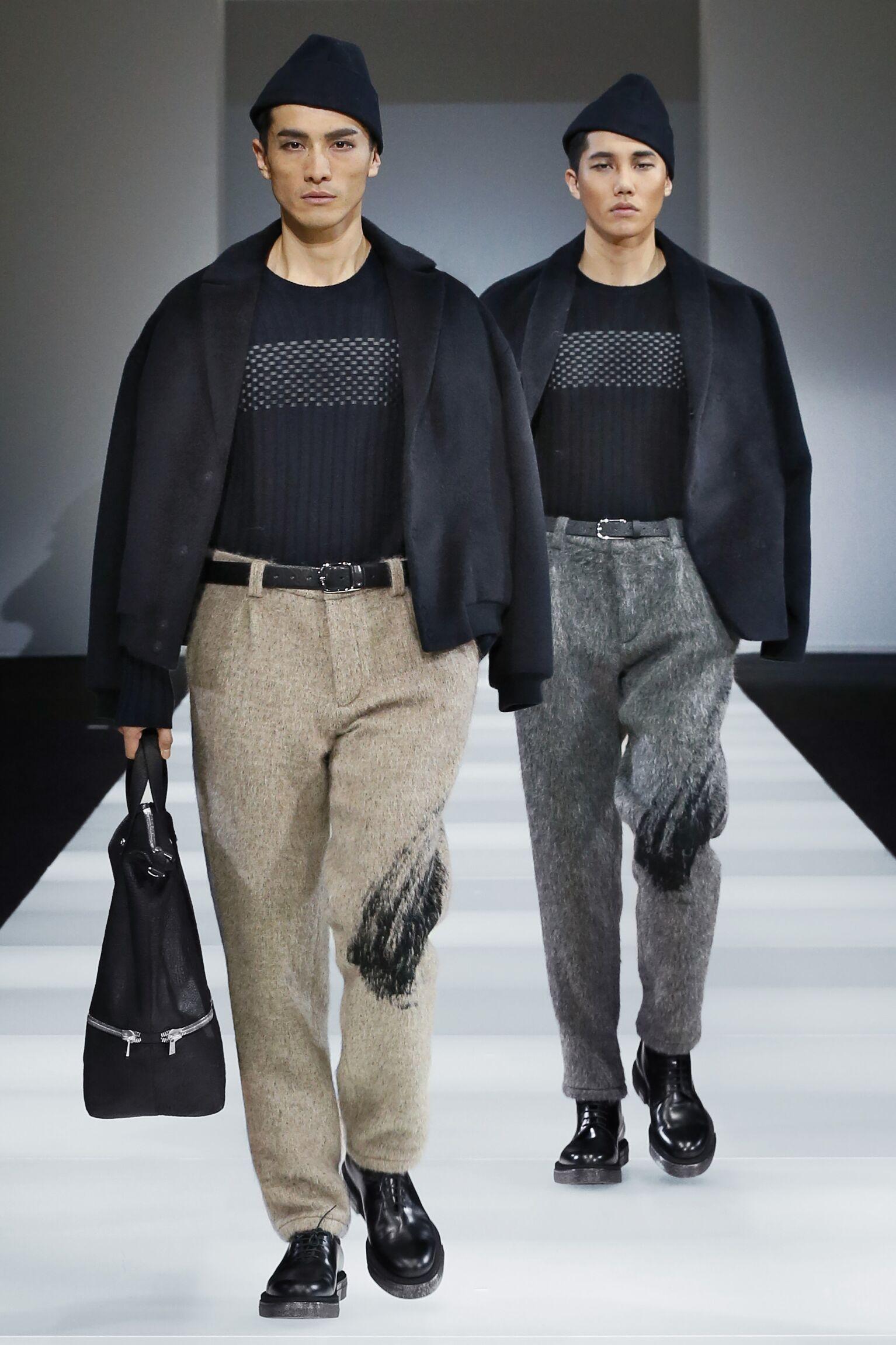 Winter Trends 2015 Man Emporio Armani Collection