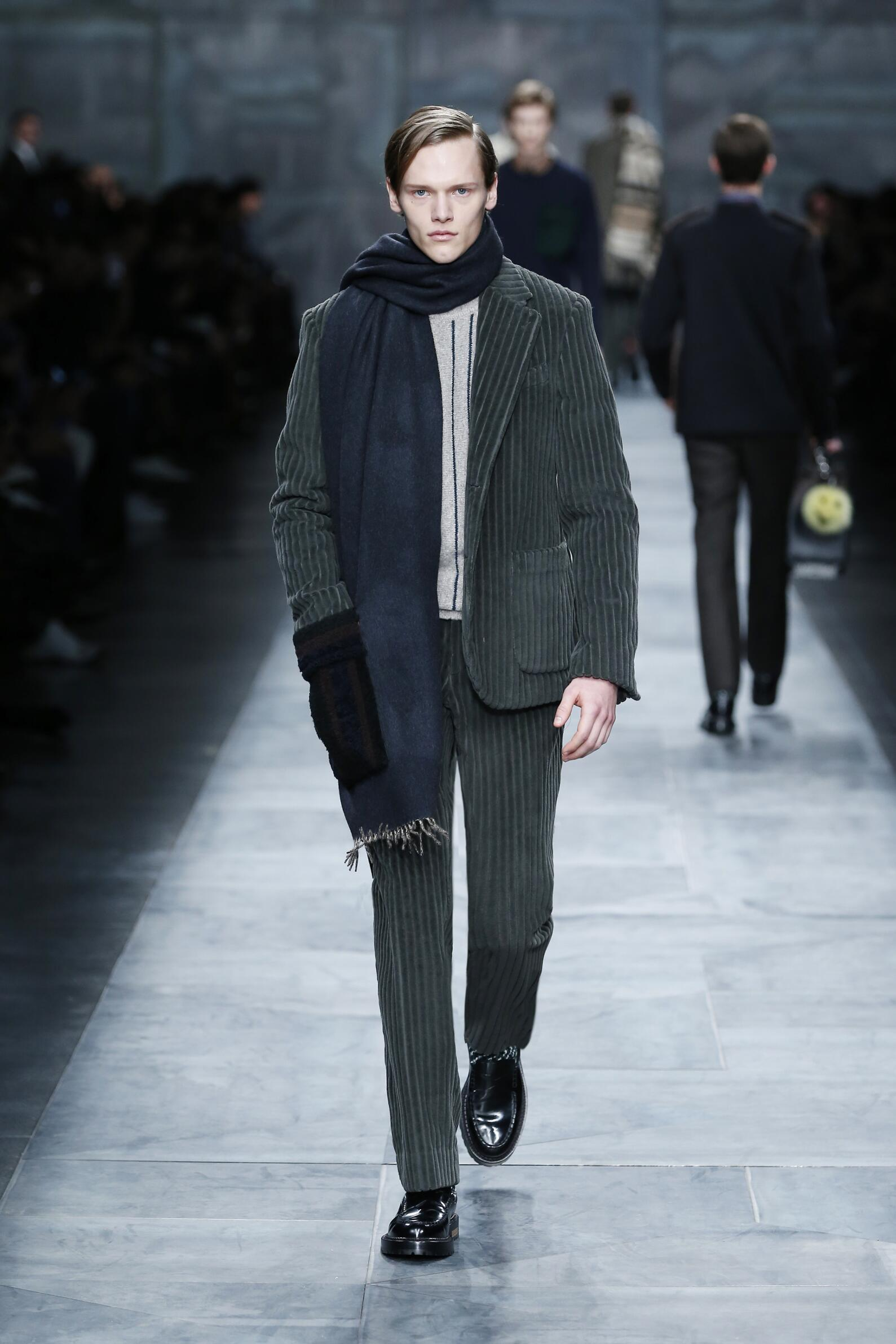 Winter Trends 2015 Man Fendi Collection