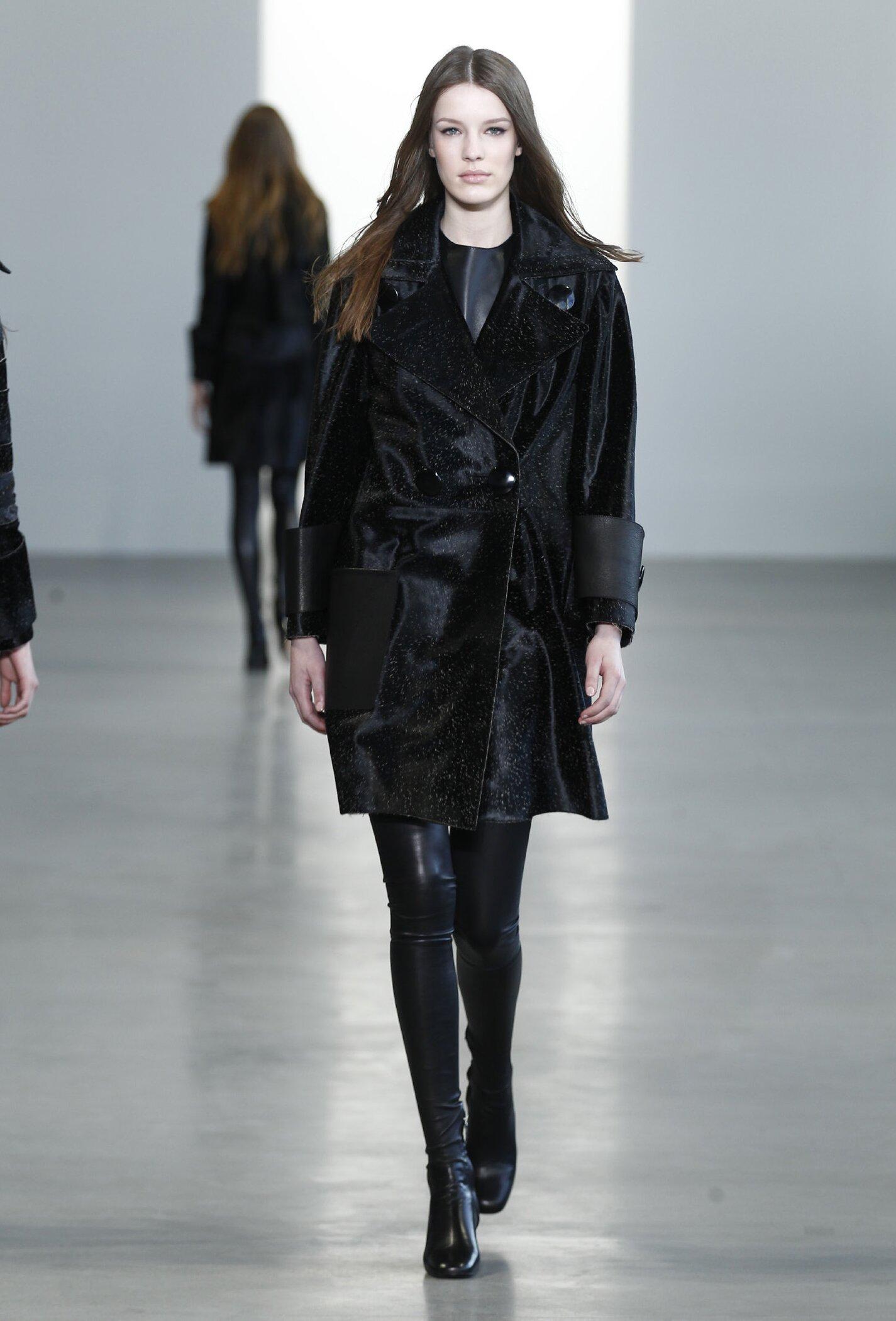 Winter Trends 2015 Woman Calvin Klein Collection