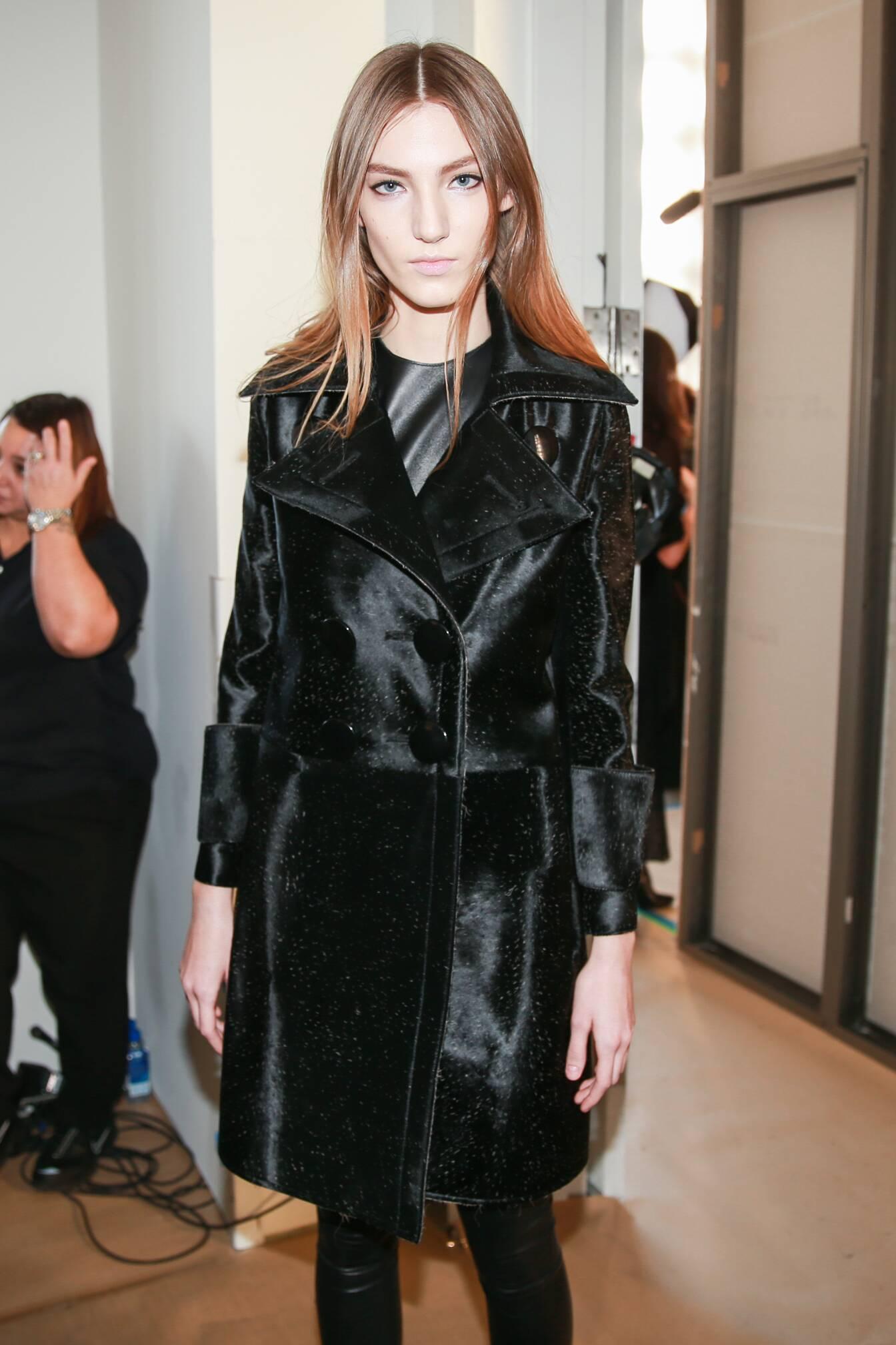 Woman Style Backstage Calvin Klein