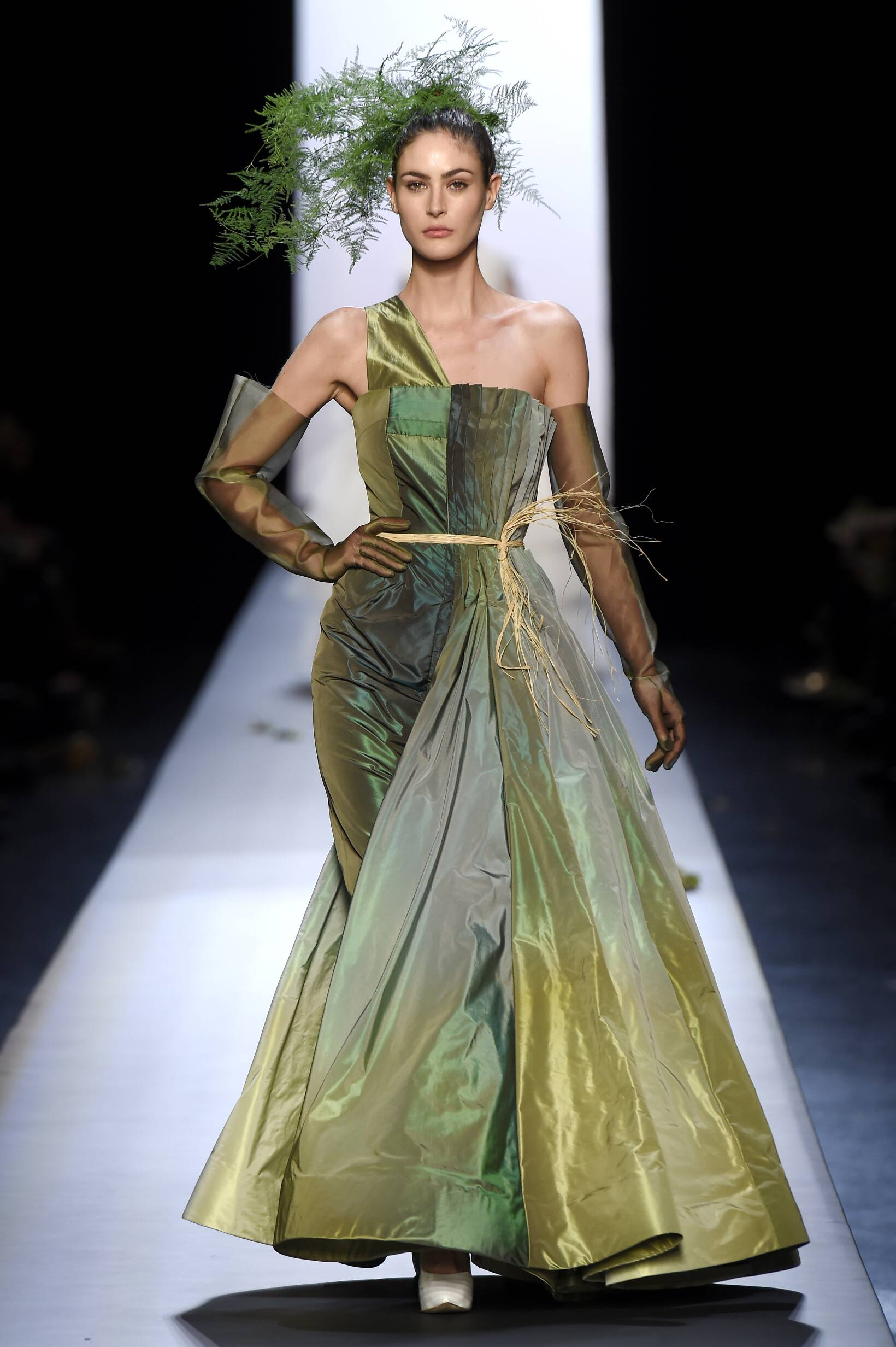 Womens 2015 Catwalk Jean Paul Gaultier Haute Couture Spring Summer Collection Paris Fashion Week