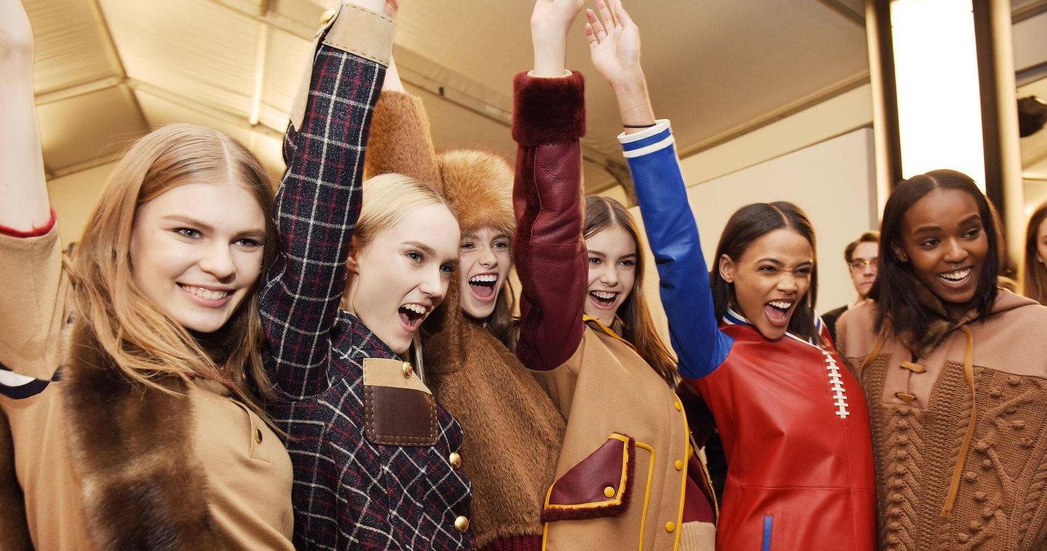 Womenswear Backstage Tommy Hilfiger New York 2015