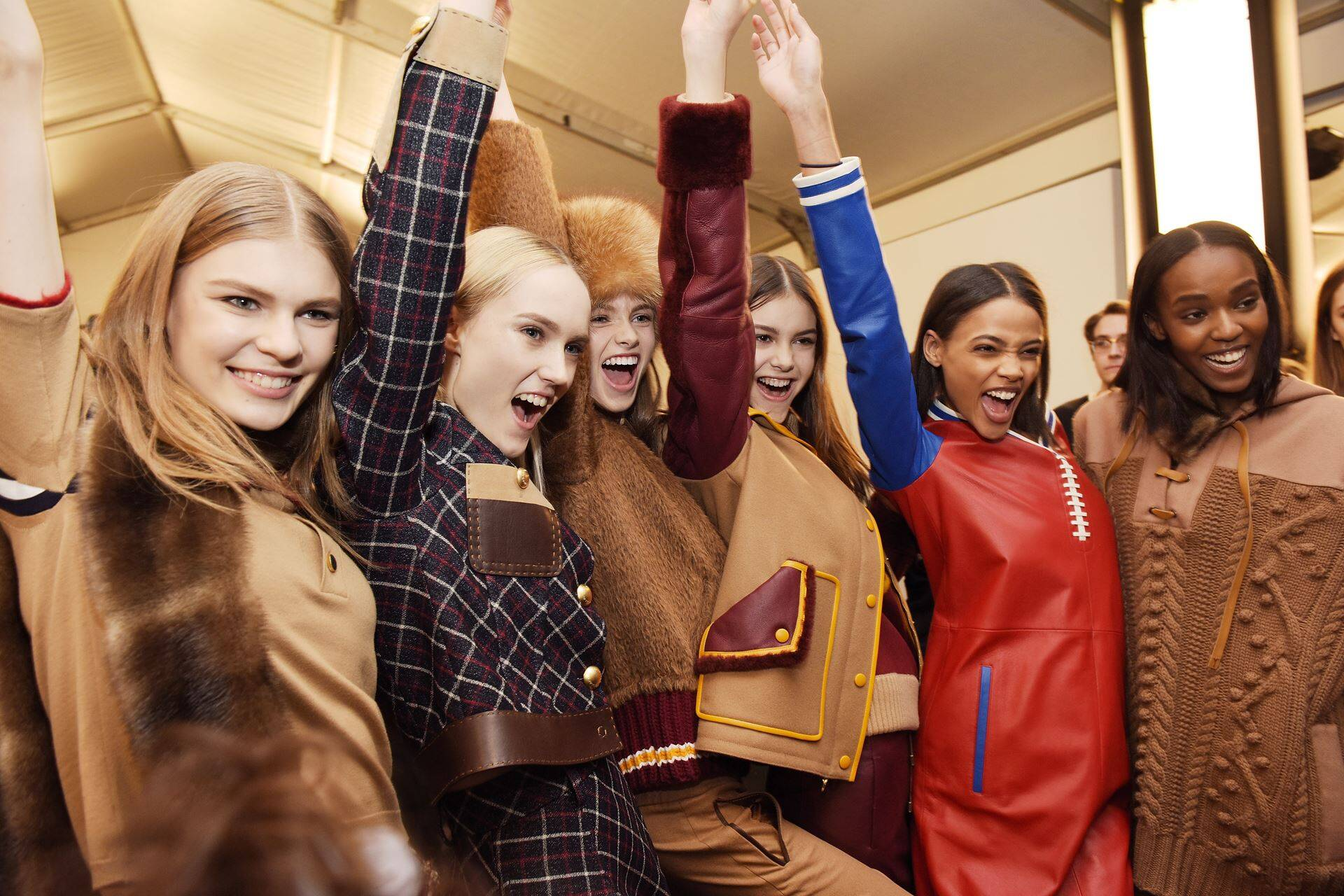 Womenswear Backstage Tommy Hilfiger New York