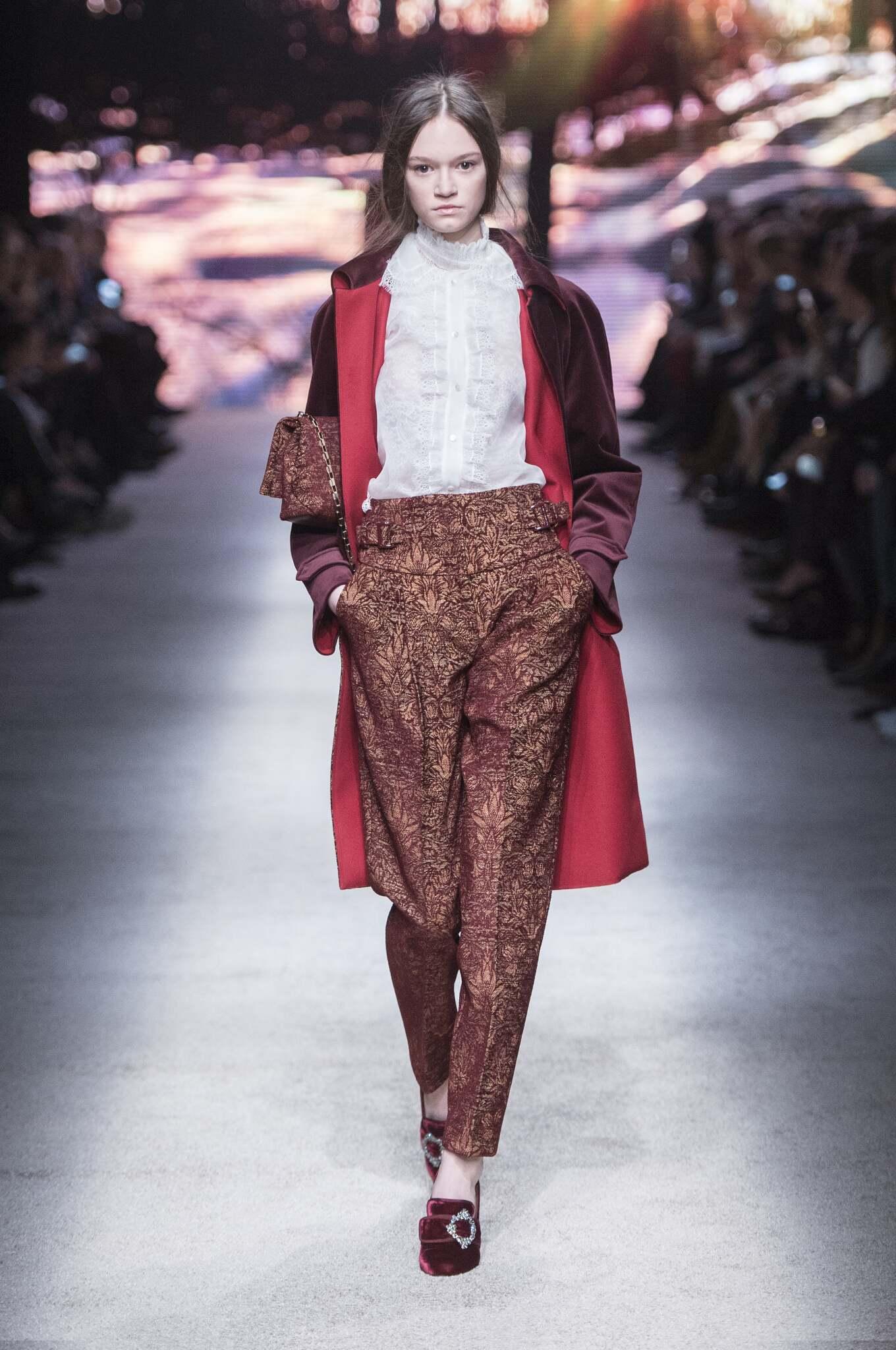 2016 Fall Fashion Woman Alberta Ferretti Collection