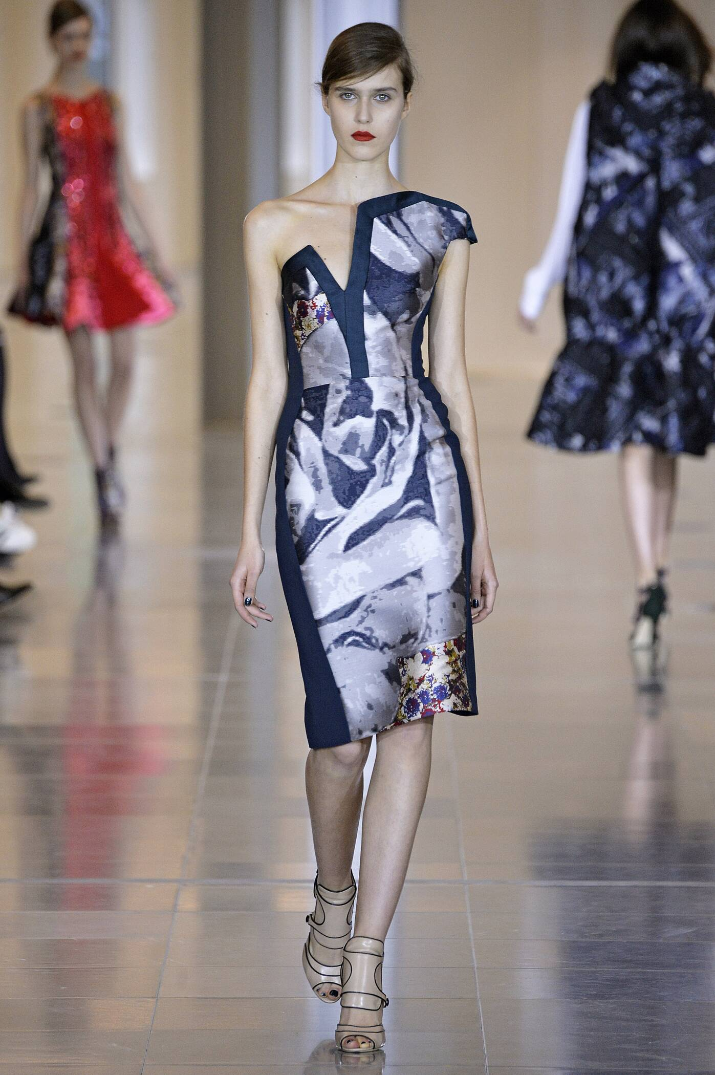 Antonio Berardi Collection Fall 2015 Catwalk