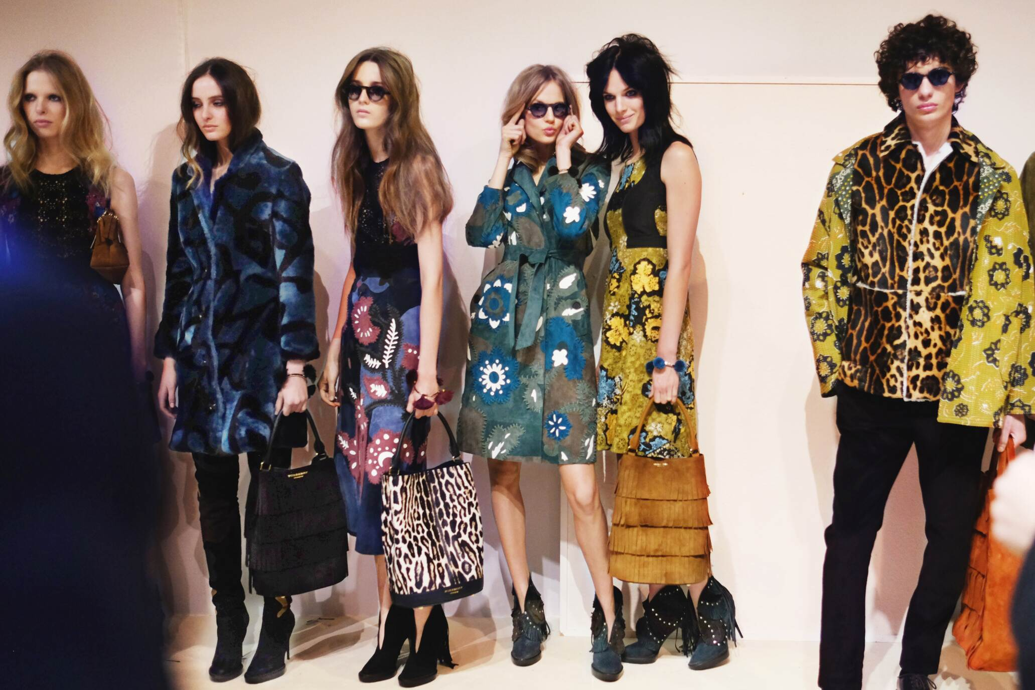 Backstage Burberry Prorsum Womenswear Trends