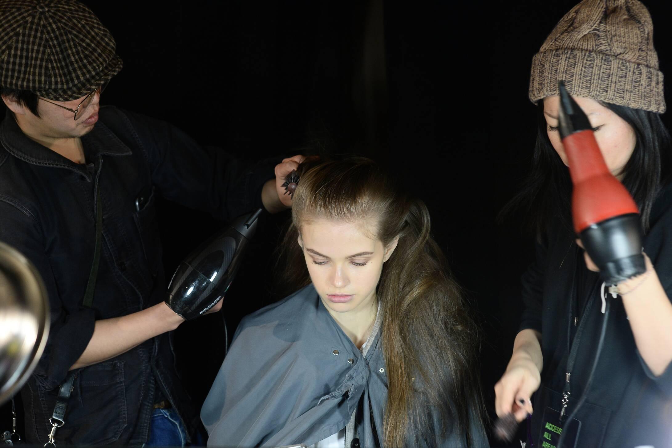Backstage Diesel Black Gold 2015 Hair Style