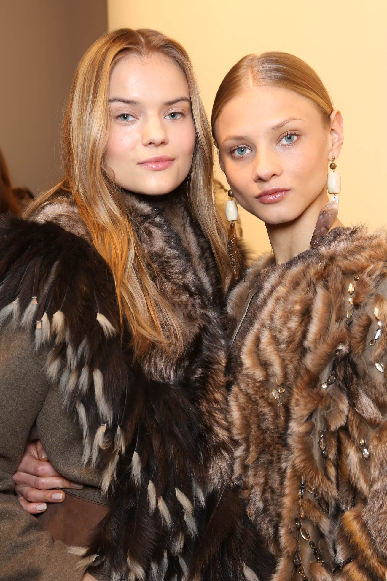 Backstage Ralph Lauren Models FW 2015 New York
