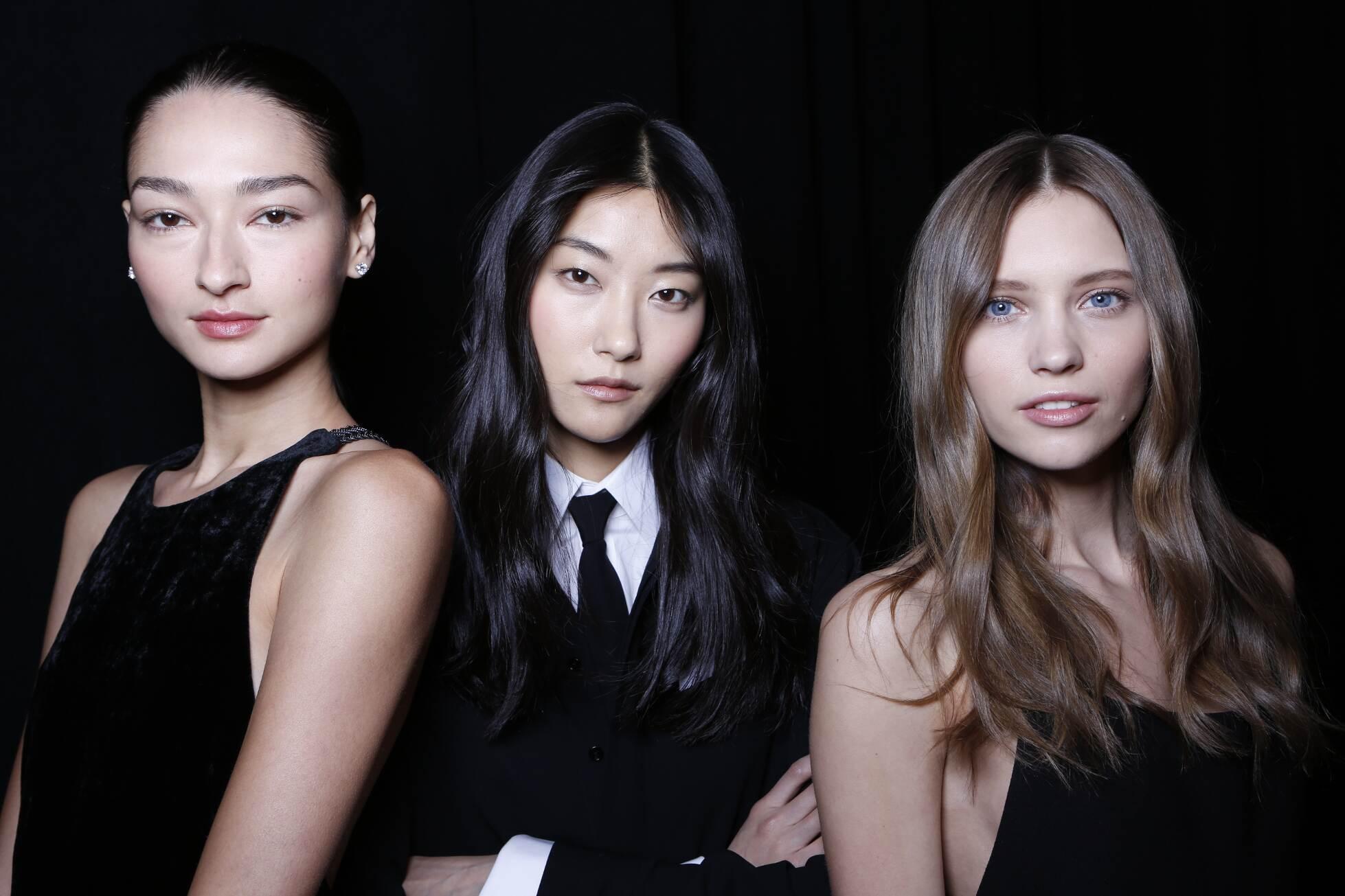 Backstage Women Ralph Lauren Models