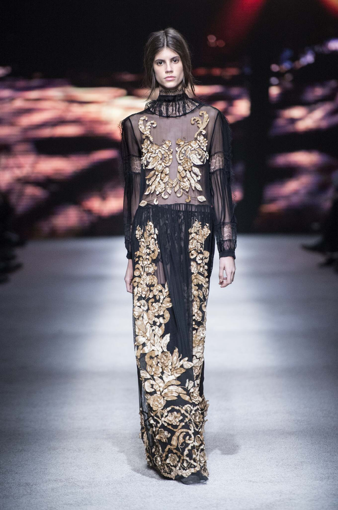 Catwalk Alberta Ferretti Collection Fashion Show Winter 2015