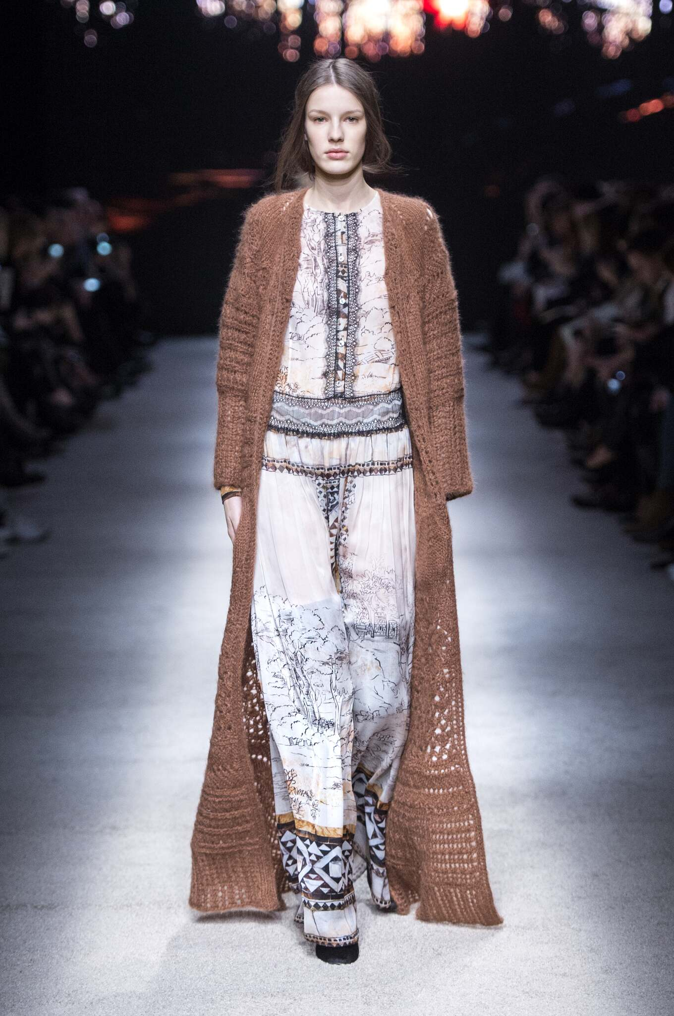 Catwalk Alberta Ferretti Womenswear Collection Winter 2015