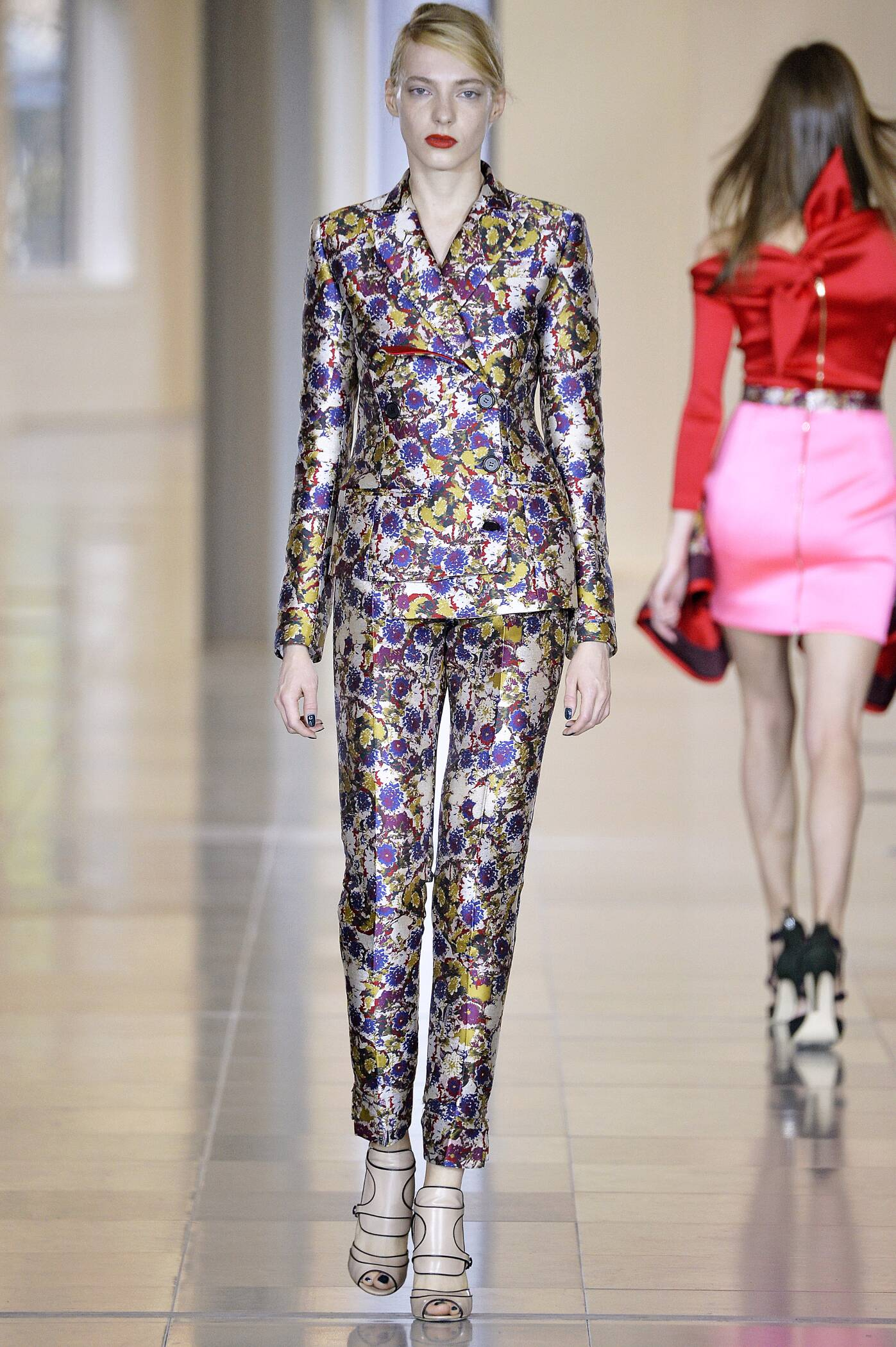Catwalk Antonio Berardi Collection Fashion Show Winter 2015