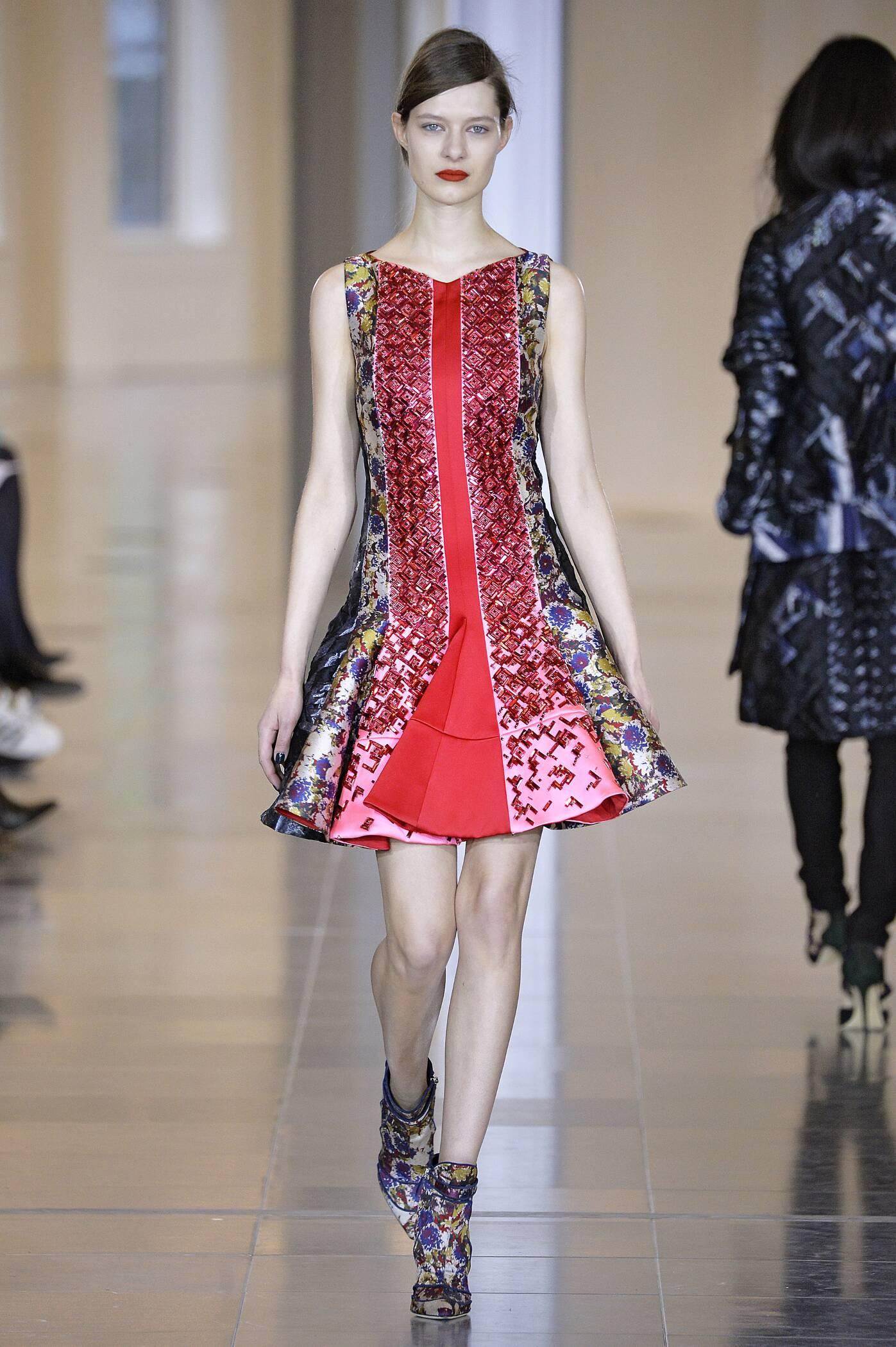 Catwalk Antonio Berardi Womenswear Collection Winter 2015