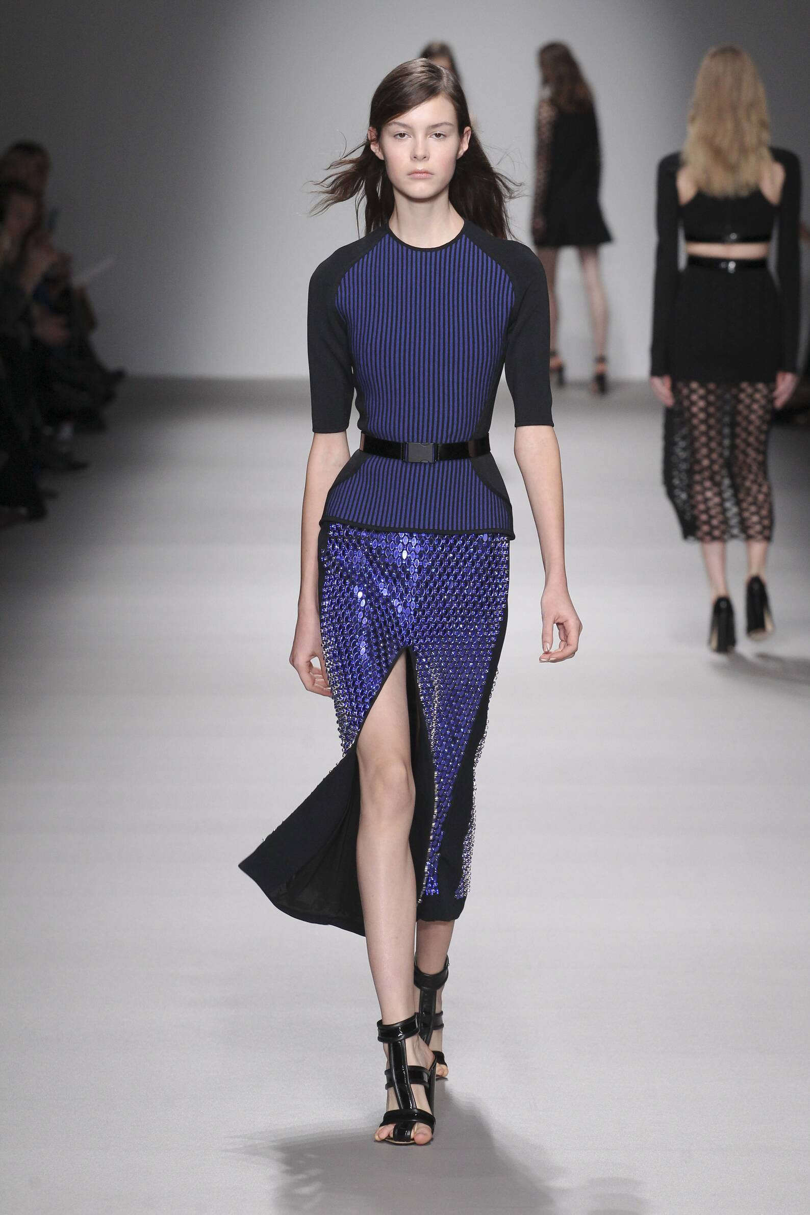 Catwalk David Koma Collection Fashion Show Winter 2015