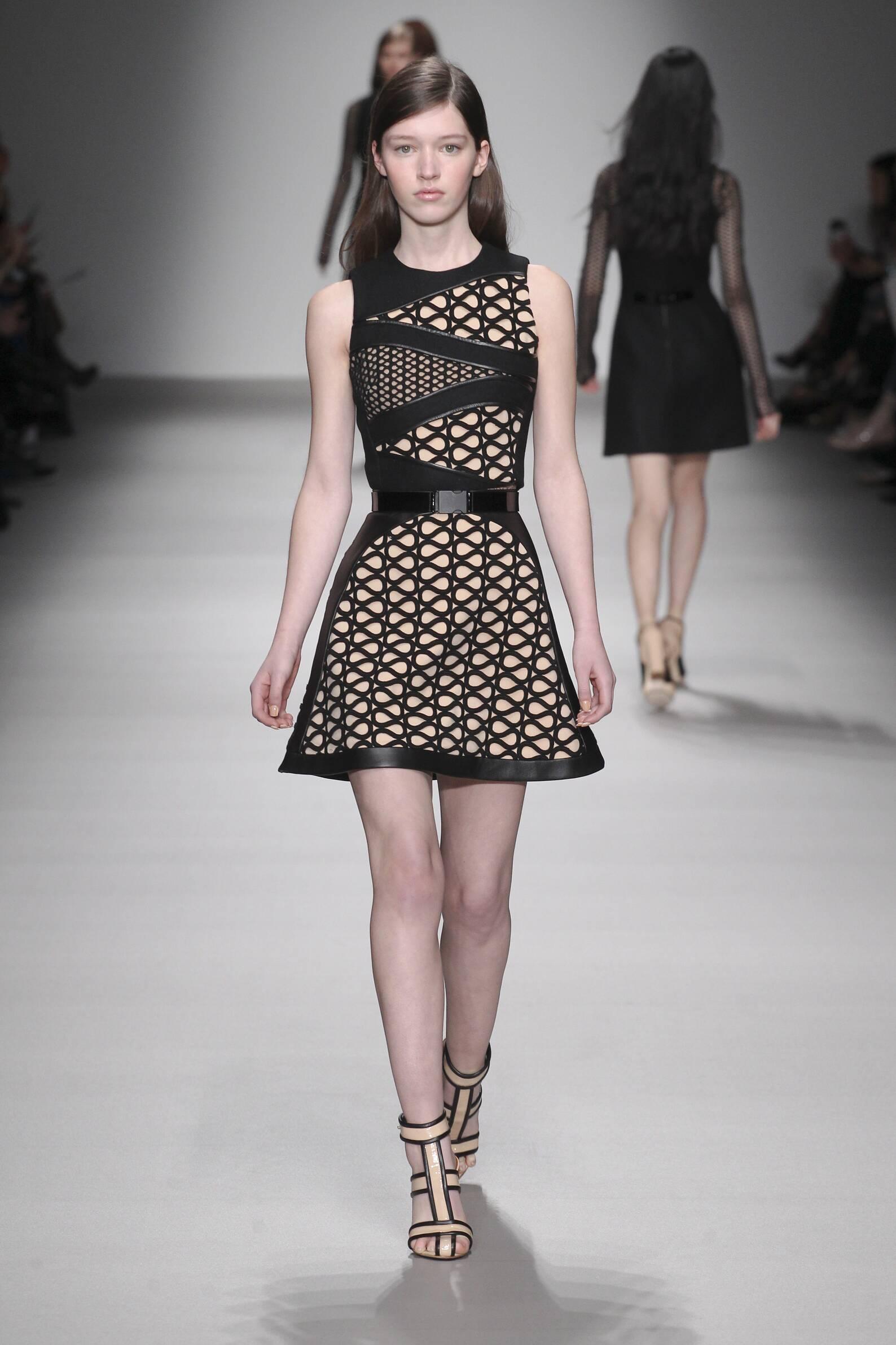Catwalk David Koma Womenswear Collection Winter 2015