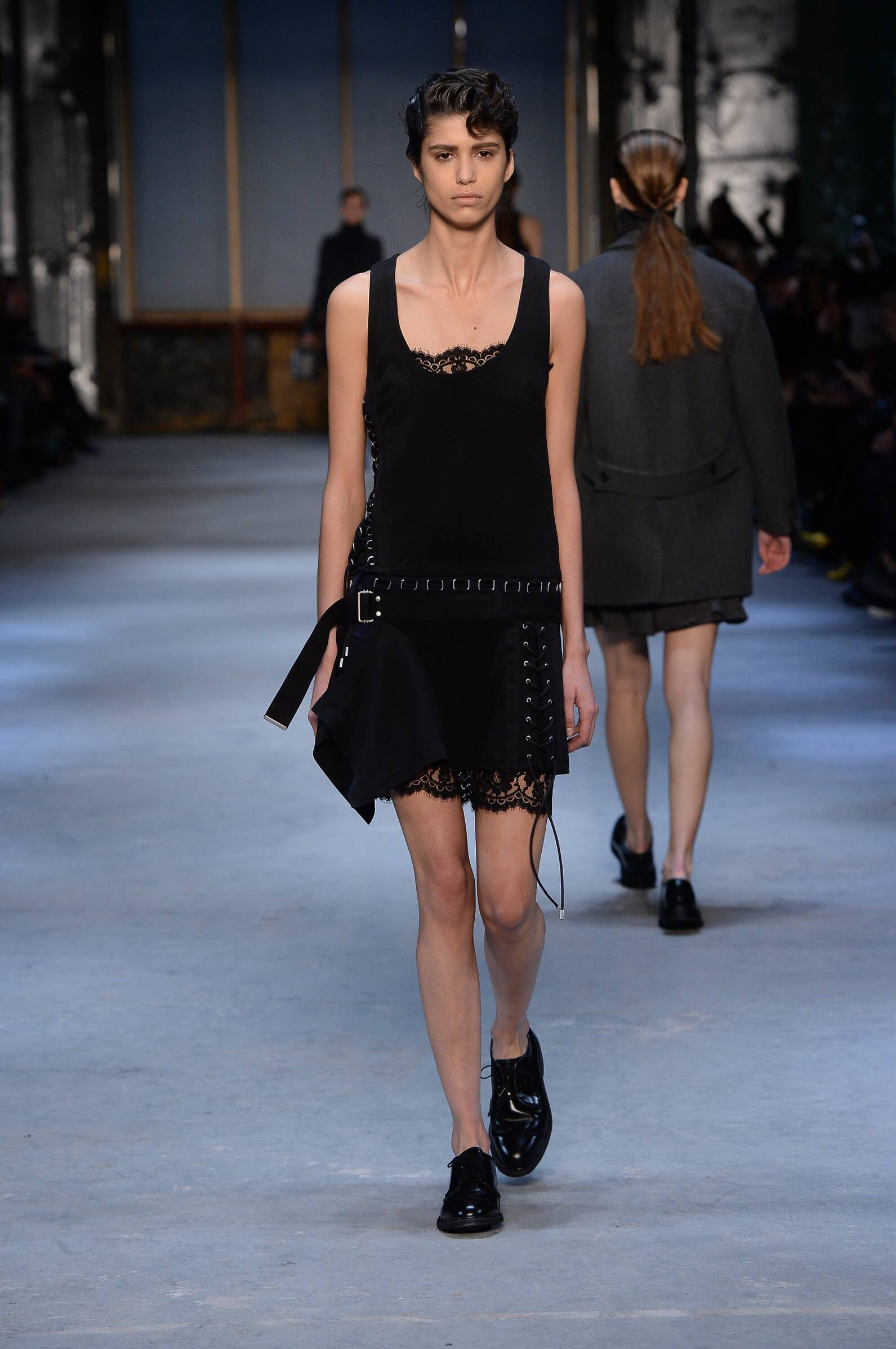 Catwalk Diesel Black Gold Collection Fashion Show Winter 2015