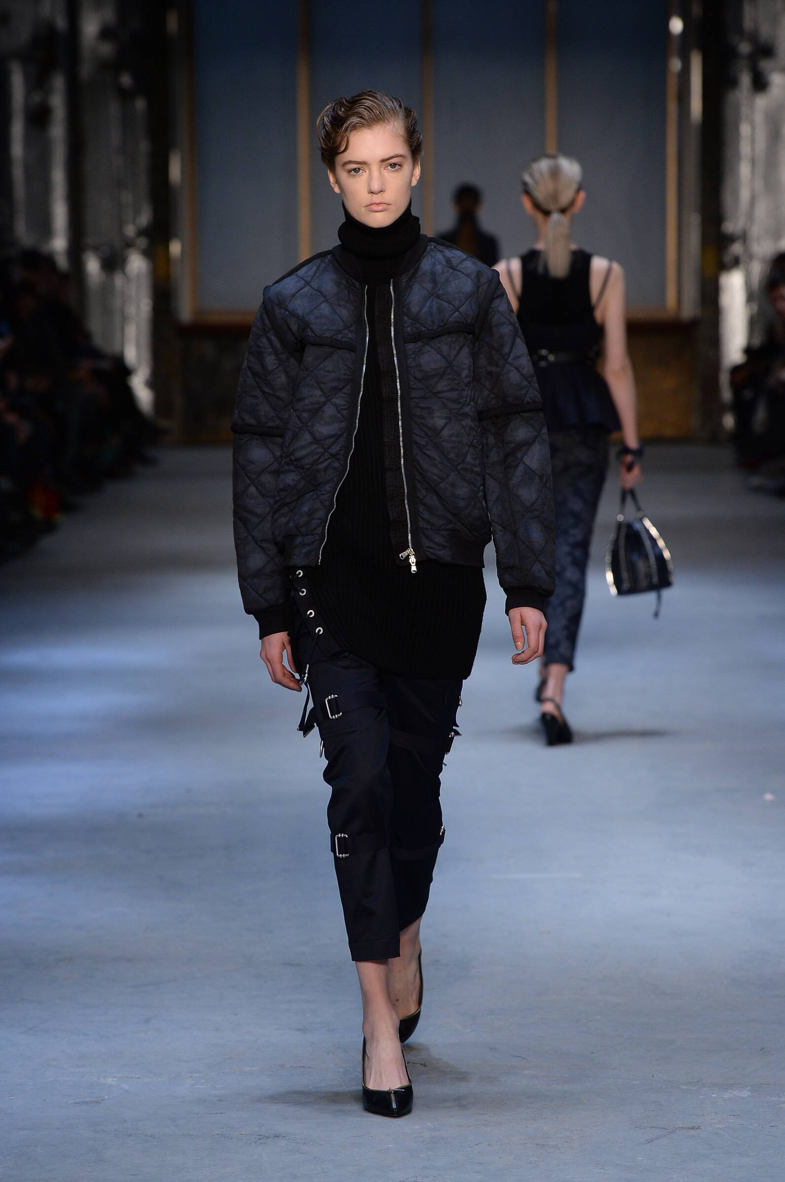 Catwalk Diesel Black Gold Fall Winter 2015 16 Women's Collection New York Fashion Week