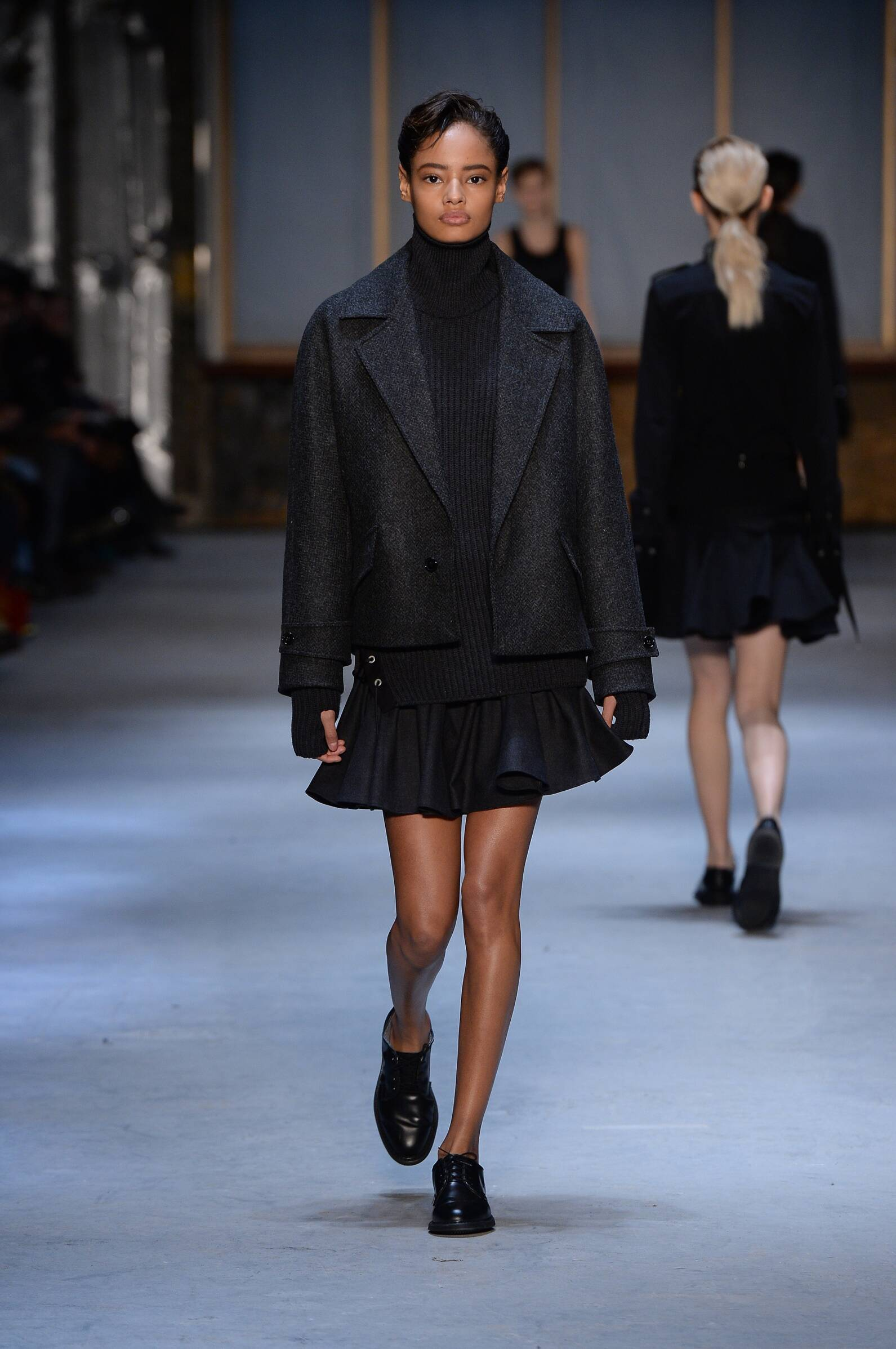 Catwalk Diesel Black Gold Womenswear Collection Winter 2015
