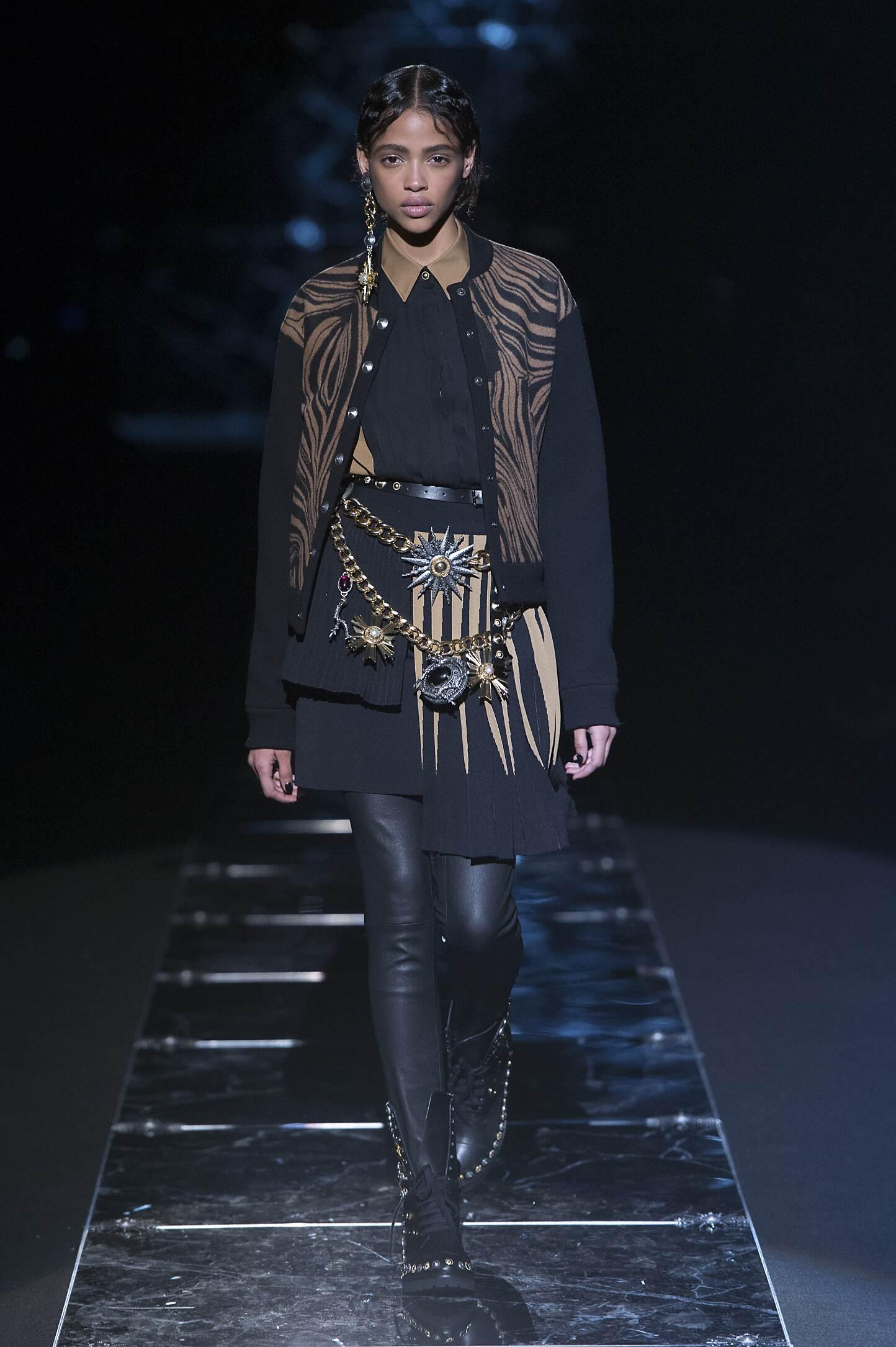 Catwalk Fausto Puglisi Collection Fashion Show Winter 2015