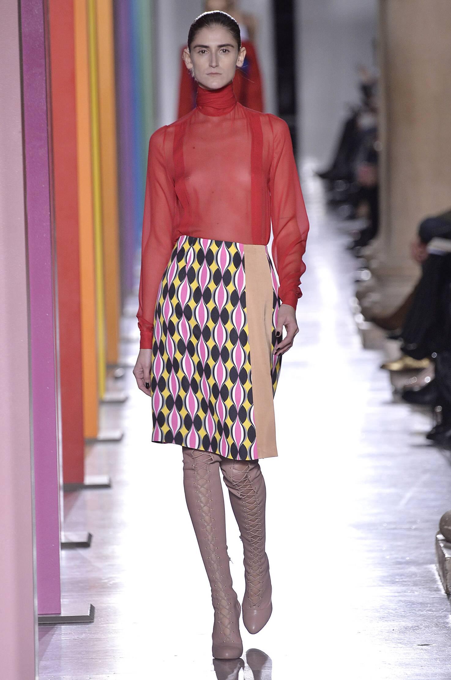 Catwalk Jonathan Saunders Fall Winter 2015 16 Women's Collection London Fashion Week