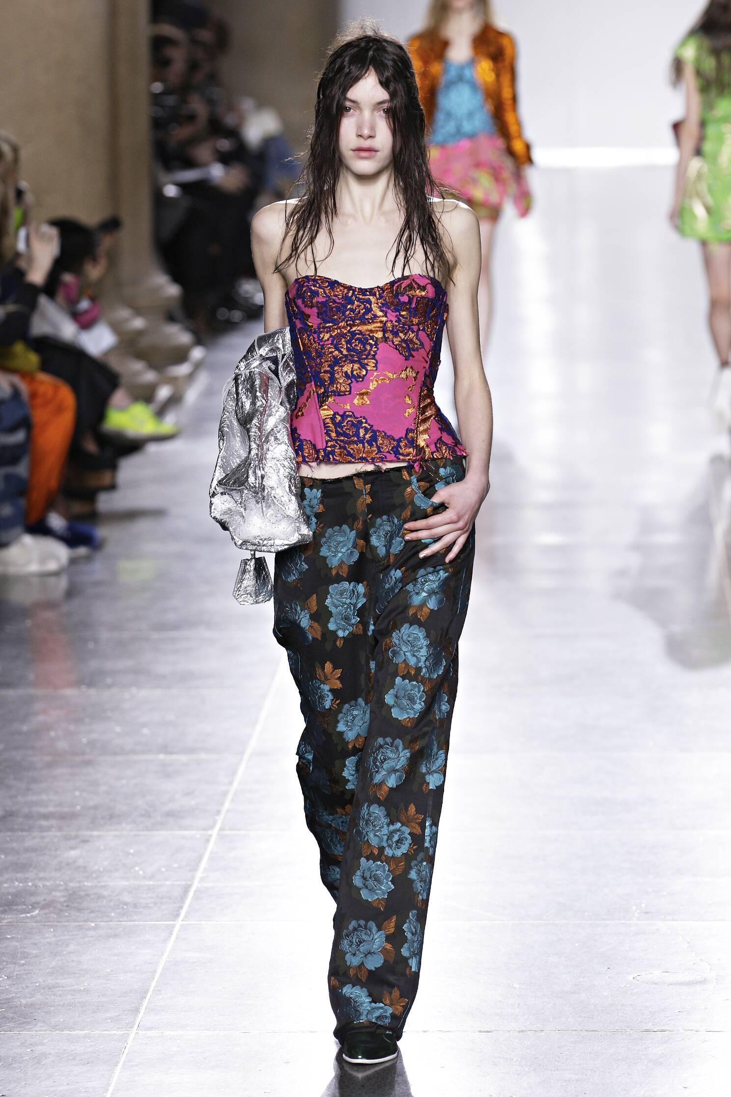 Catwalk Marques Almeida Collection Fashion Show Winter 2015