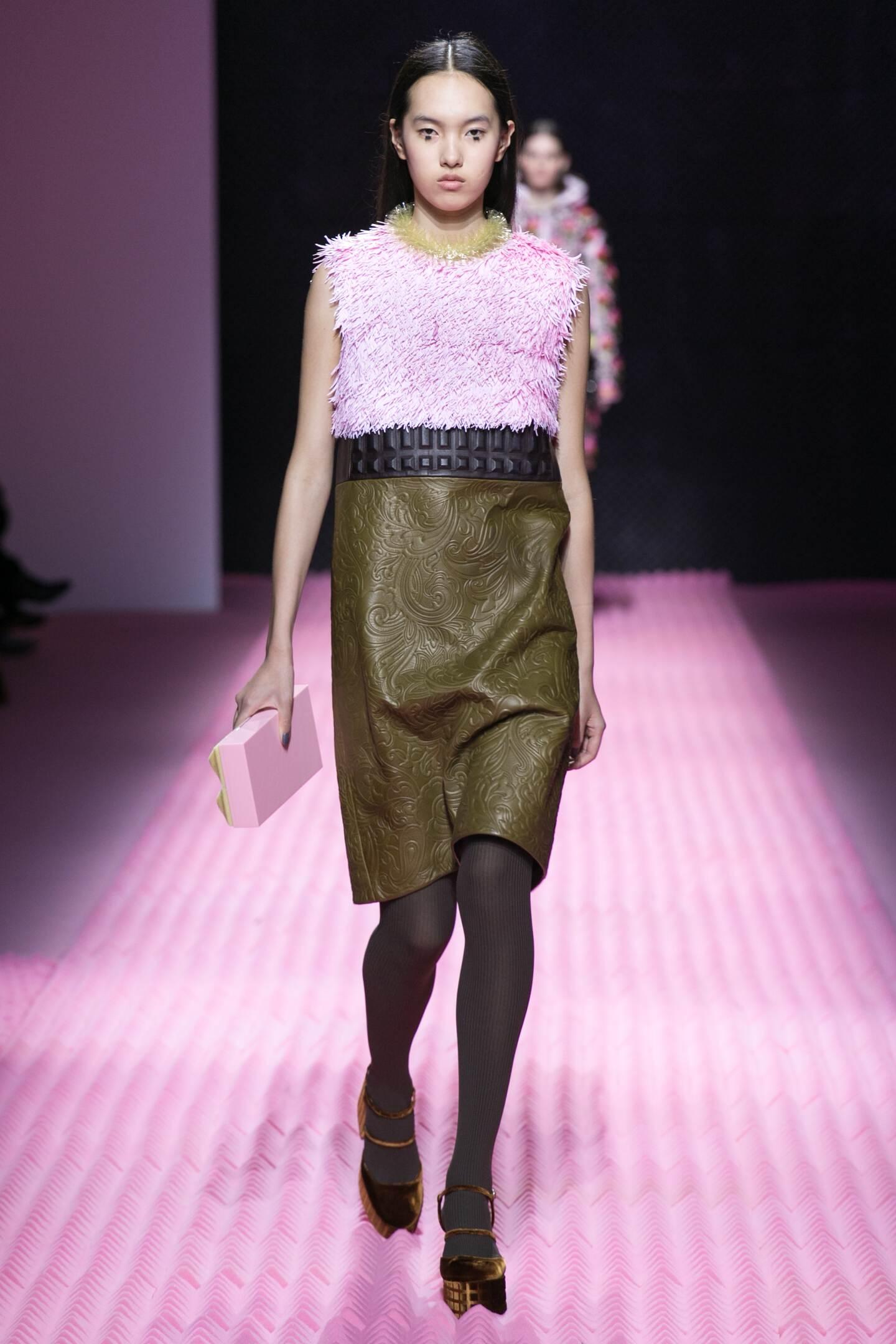 Catwalk Mary Katrantzou Collection Fashion Show Winter 2015