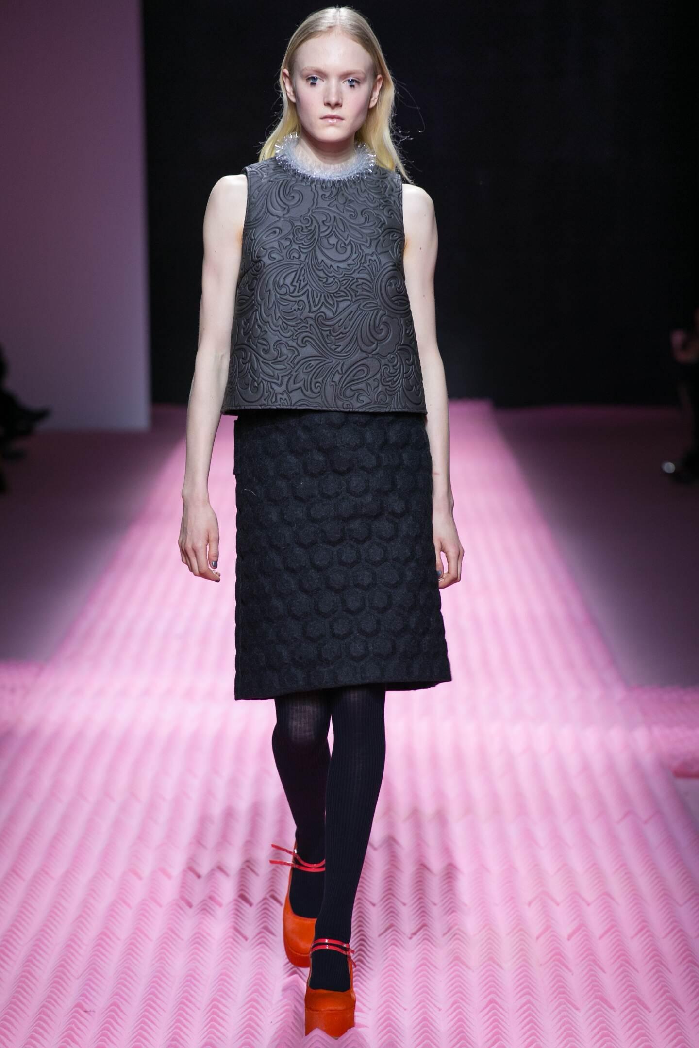 Catwalk Mary Katrantzou Fall Winter 2015 16 Women's Collection London Fashion Week