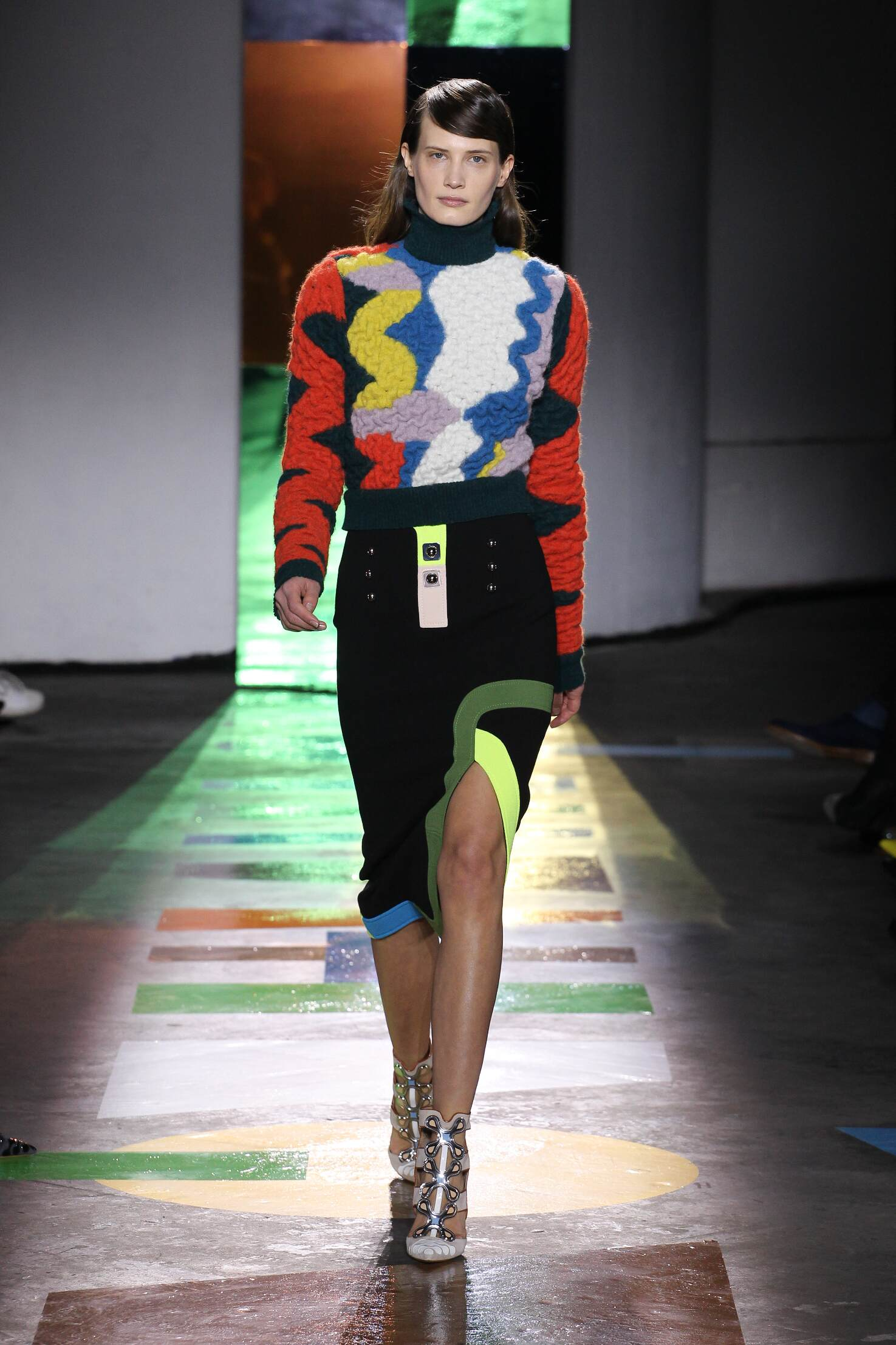 Catwalk Peter Pilotto Collection Fashion Show Winter 2015