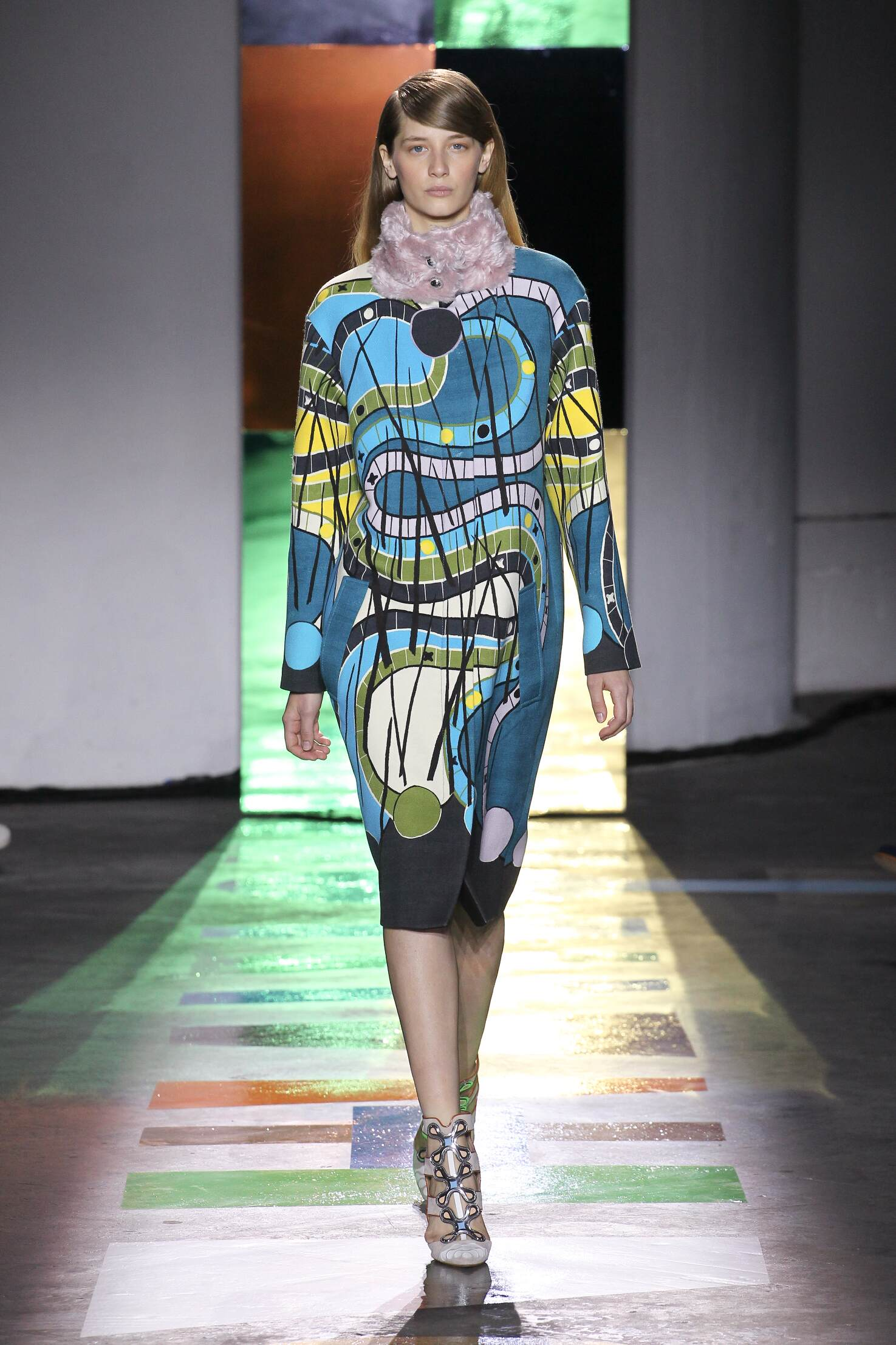 Catwalk Peter Pilotto Fall Winter 2015 16 Women's Collection London Fashion Week