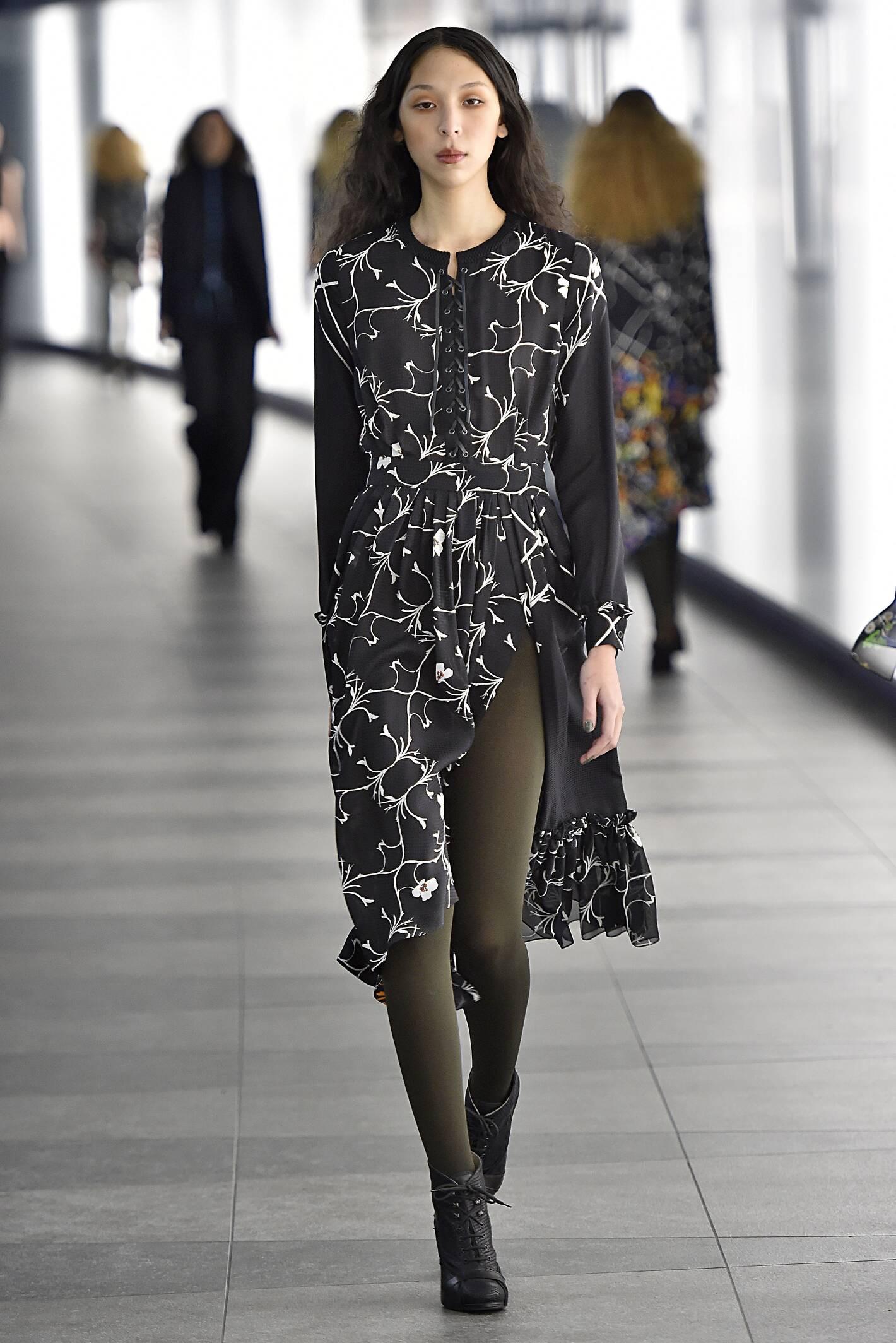 Catwalk Preen by Thornton Bregazzi Womenswear Collection Winter 2015