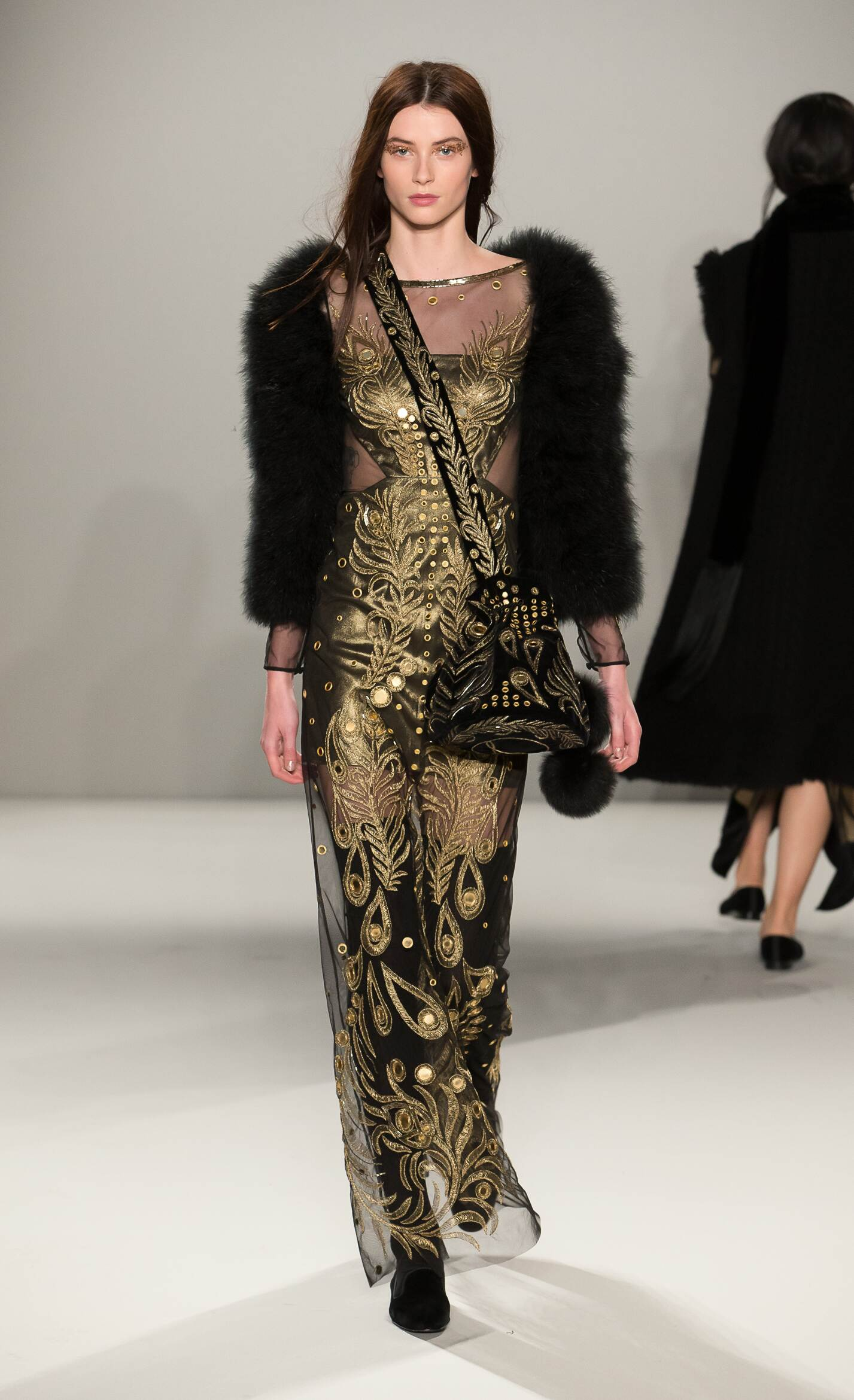 Catwalk Temperley London Fall Winter 2015 16 Women's Collection London Fashion Week