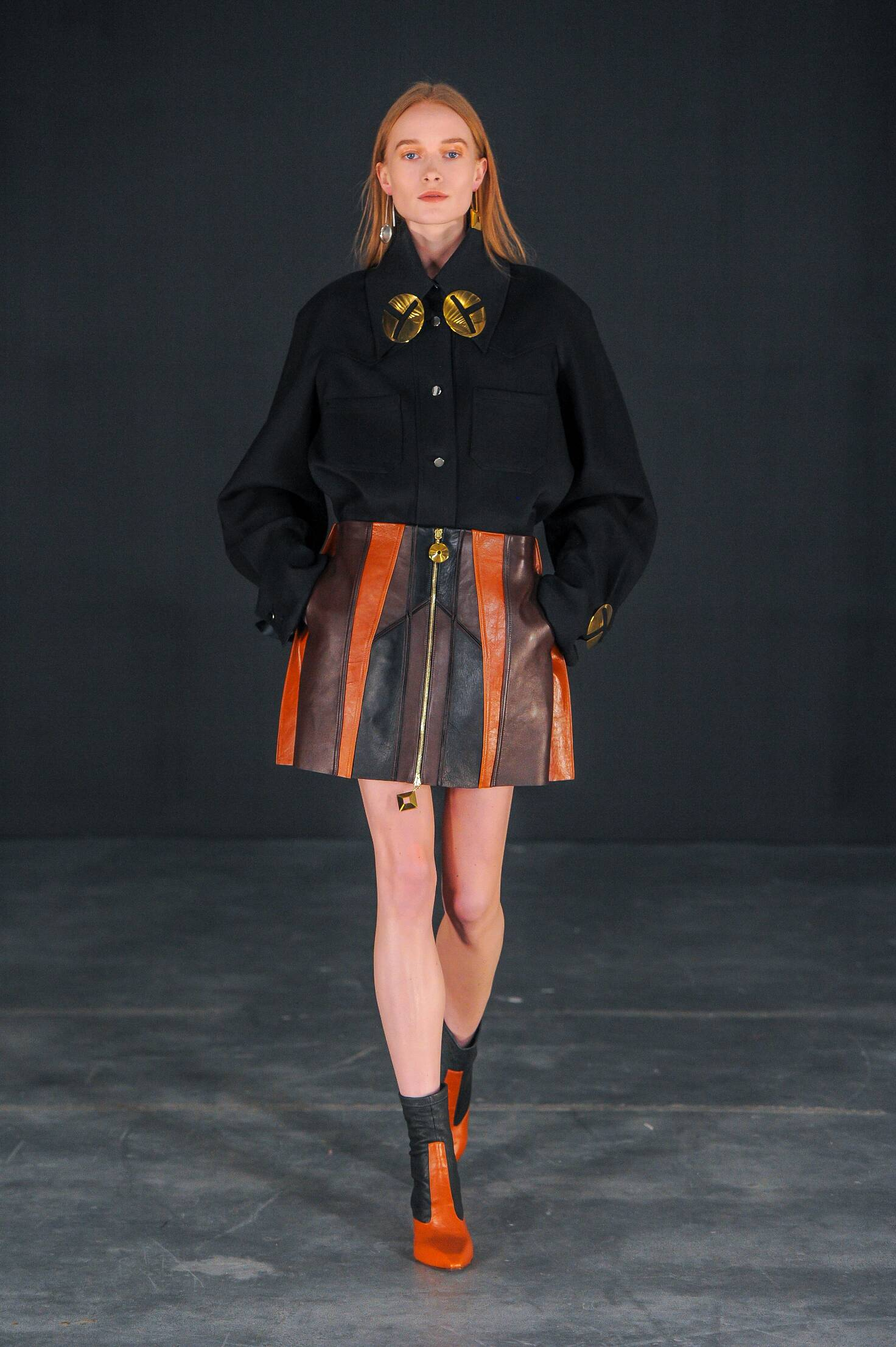 Catwalk Thomas Tait Fall Winter 2015 16 Women's Collection London Fashion Week