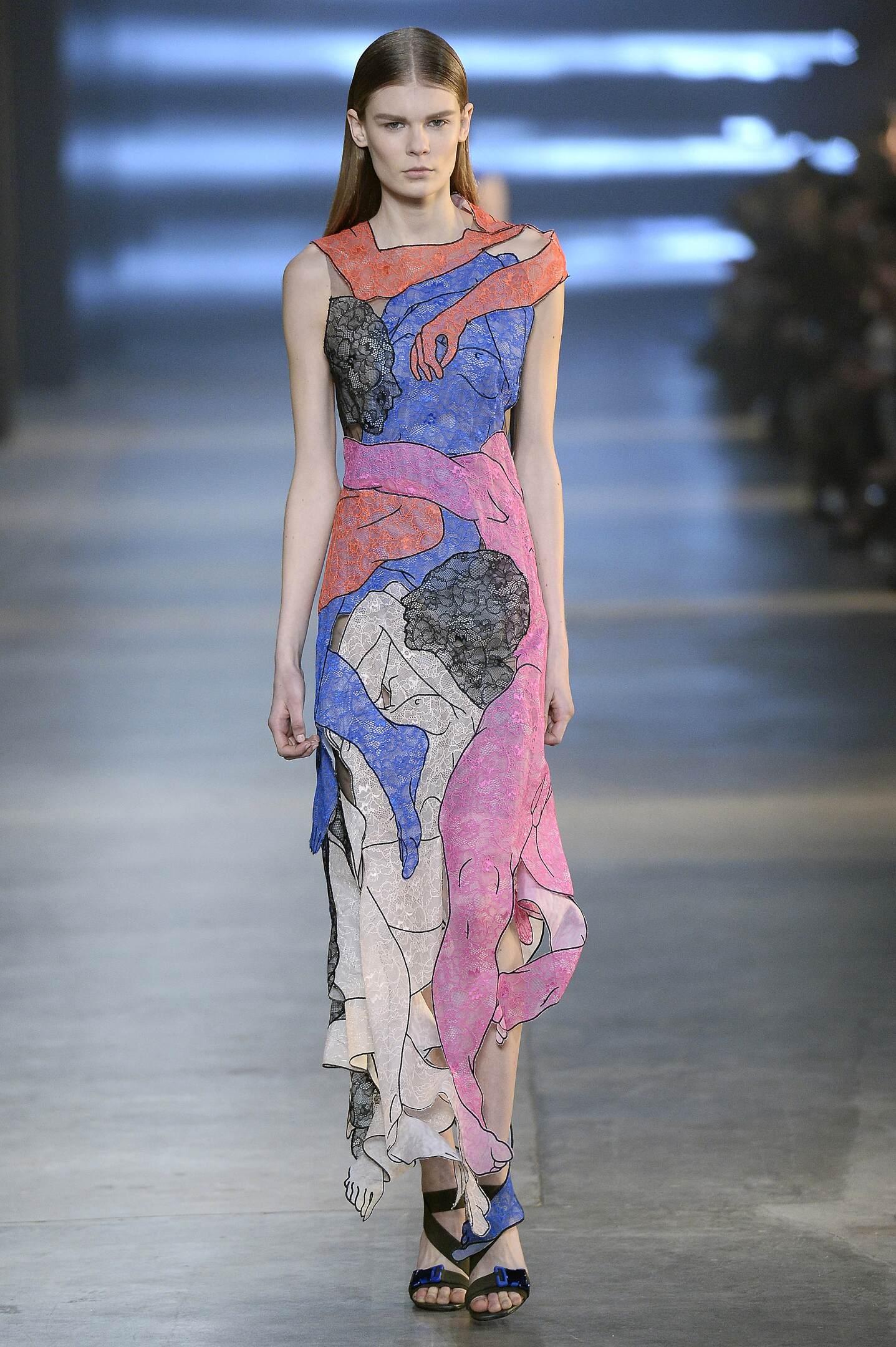 Christopher Kane Fashion Show