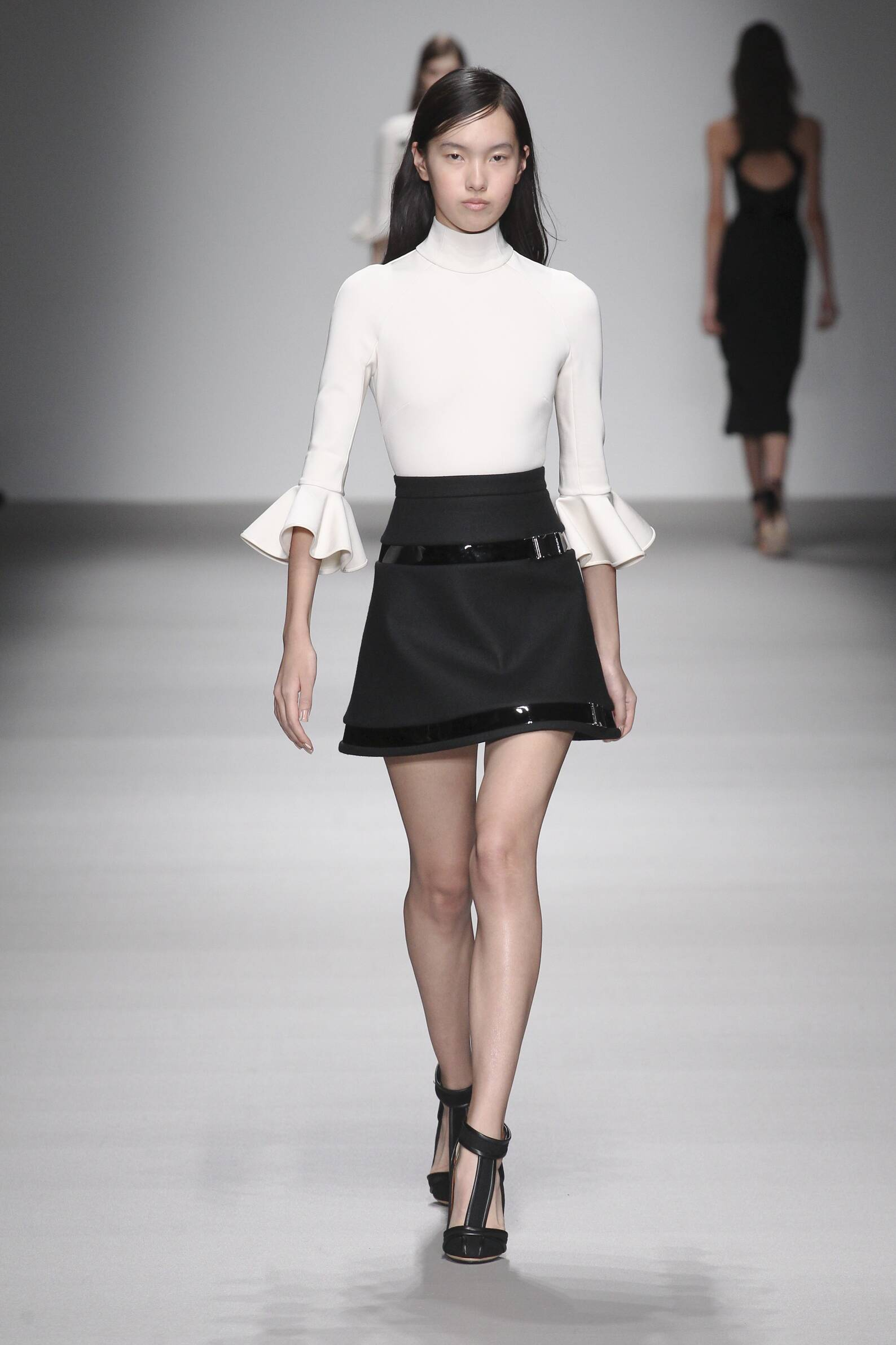 David Koma Collection Catwalk
