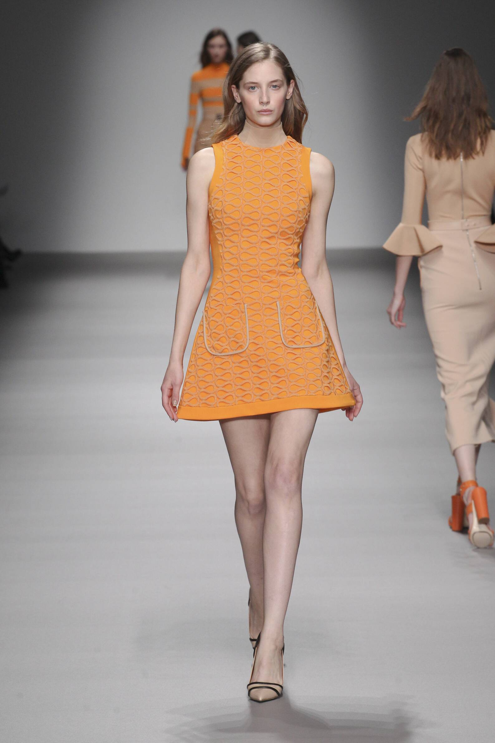 David Koma Collection London Fashion Week Womenswear