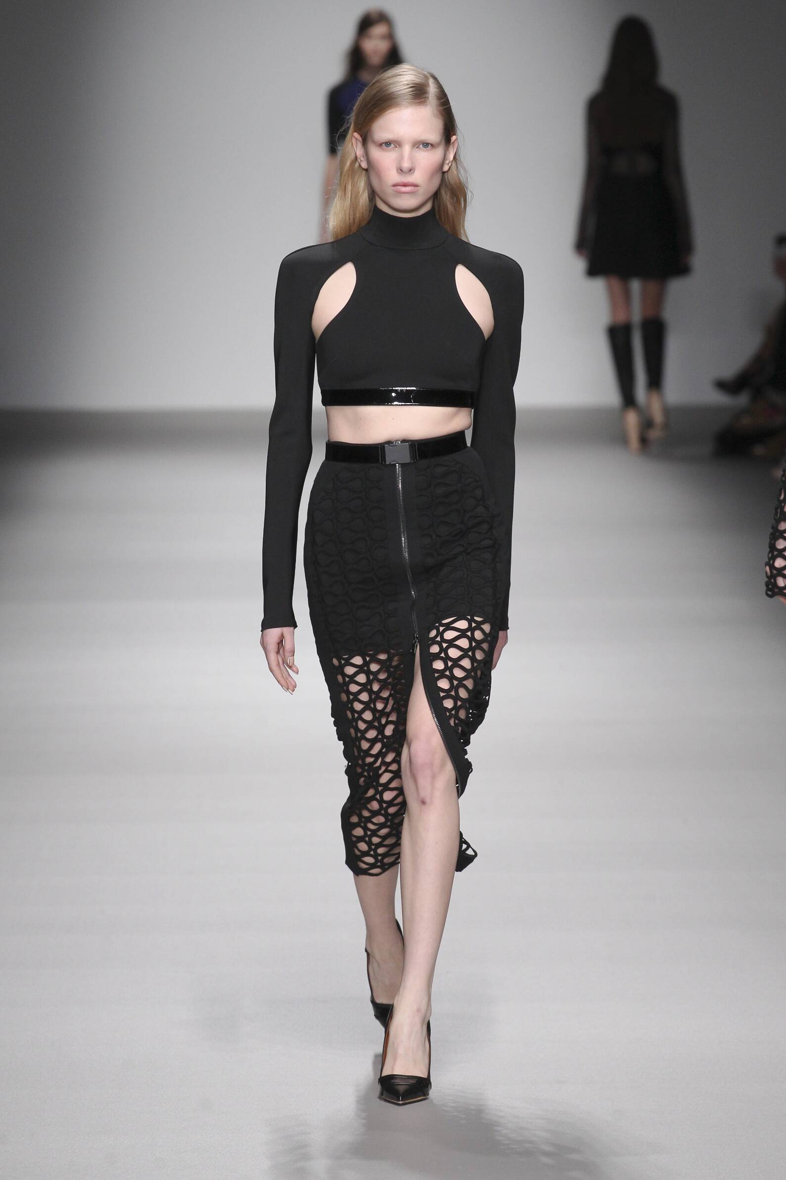 David Koma Collection Winter 2015 Catwalk