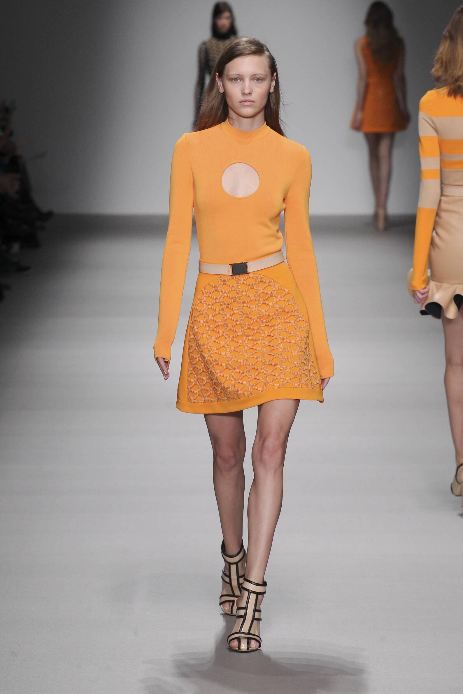 David Koma Collection Woman London Fashion Week