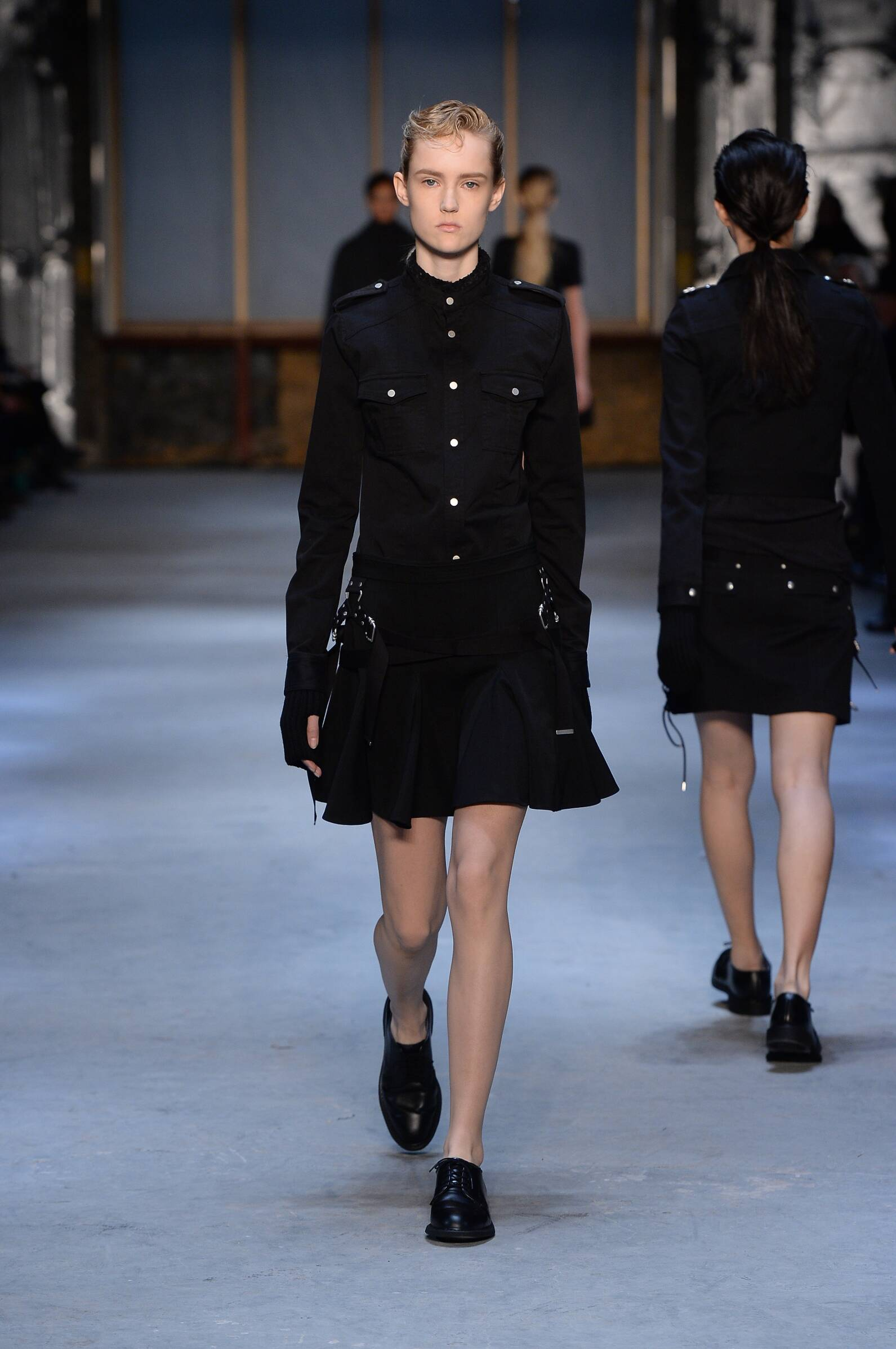 Diesel Black Gold Collection Fall 2015 Catwalk
