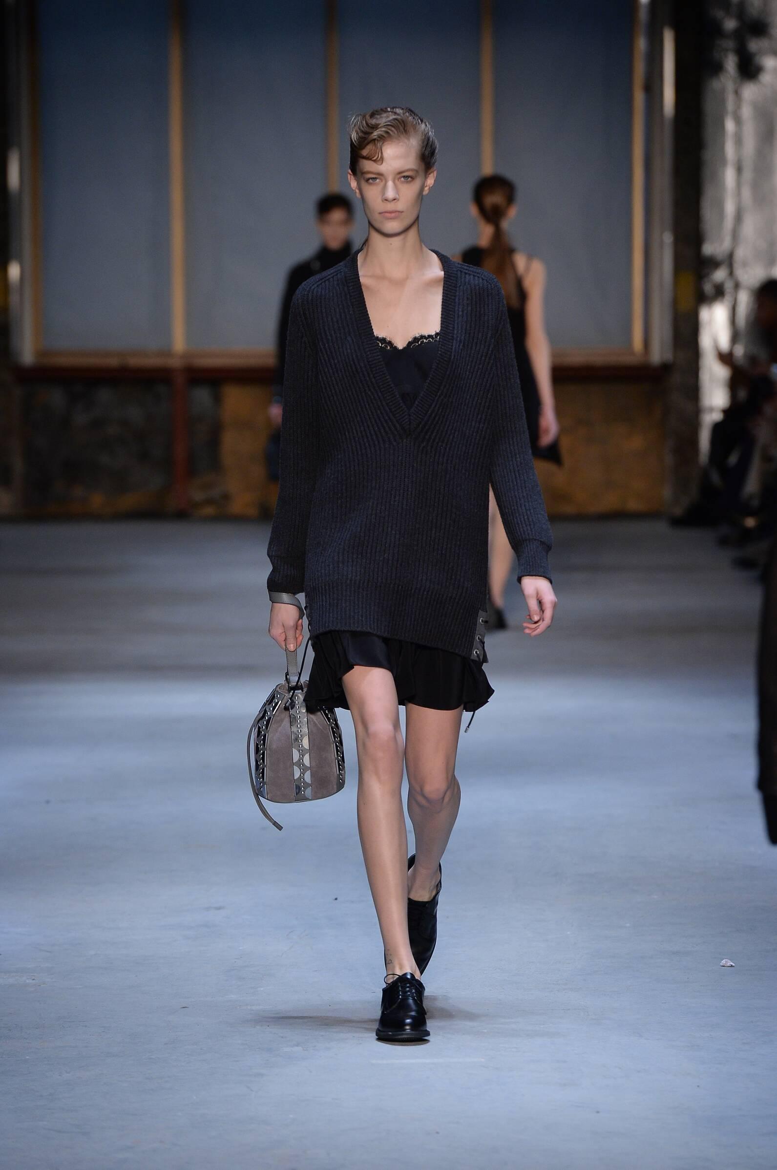Diesel Black Gold Fall Winter 2015 16 Womenswear Collection New York Fashion Week Fashion Show