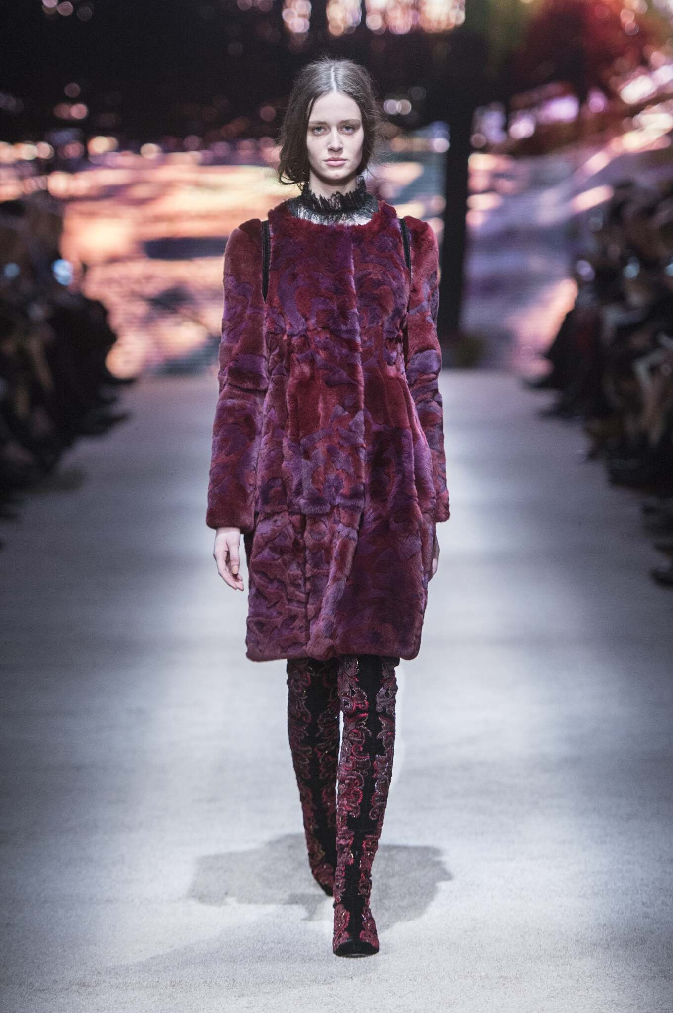 Fall 2015 Women Fashion Show Alberta Ferretti Collection