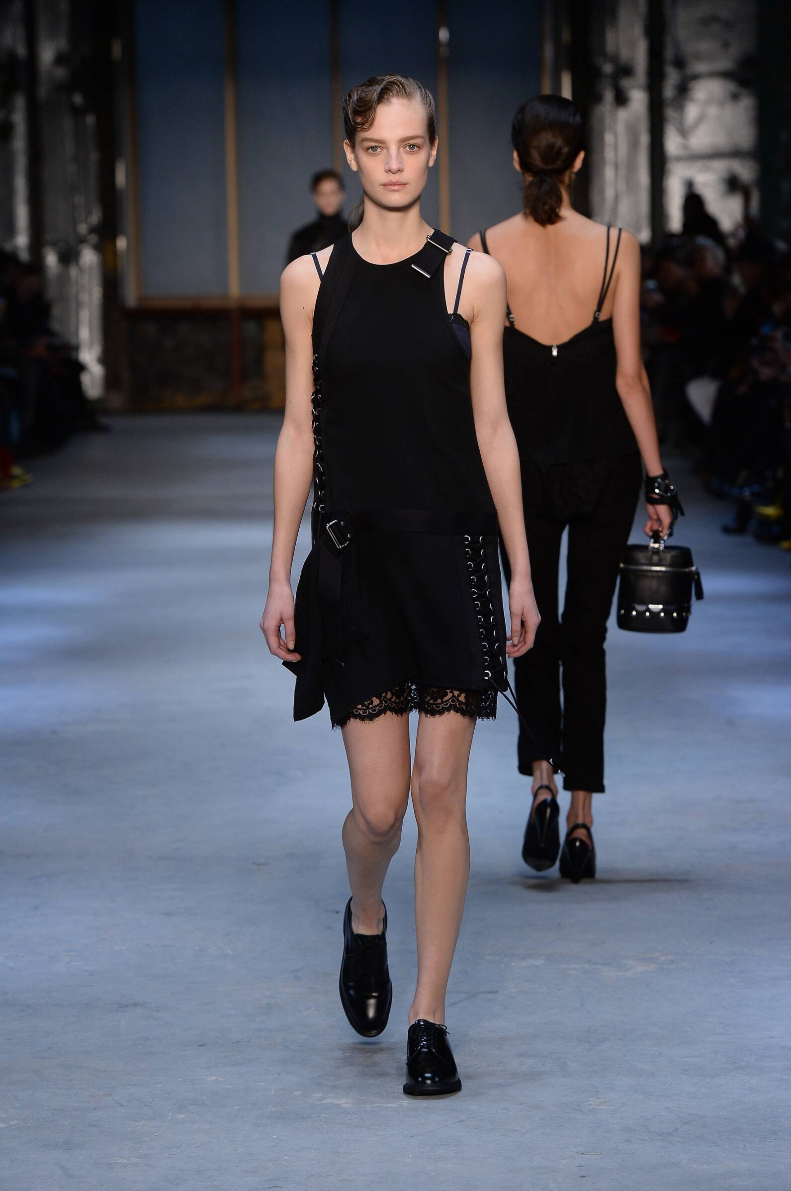 Fall 2015 Women Fashion Show Diesel Black Gold Collection