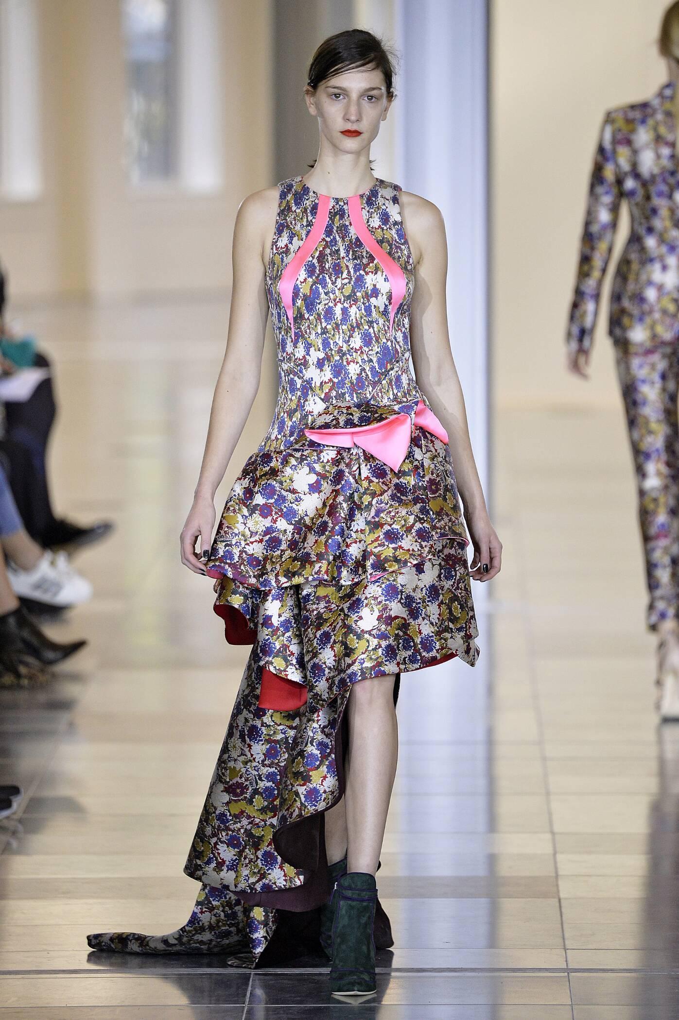 Fall Antonio Berardi Collection Fashion Women Model