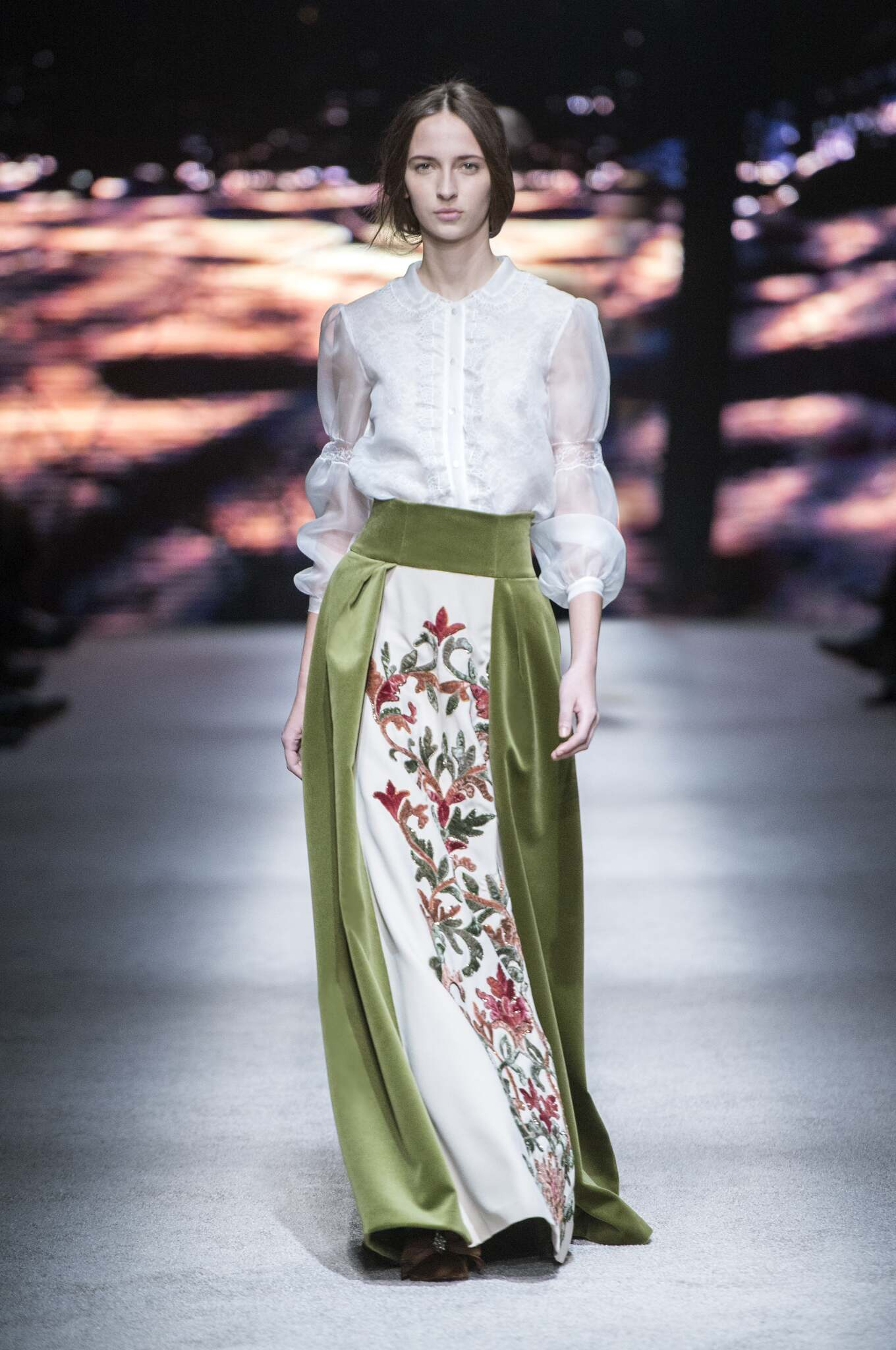 Fall Fashion 2015 2016 Alberta Ferretti Collection