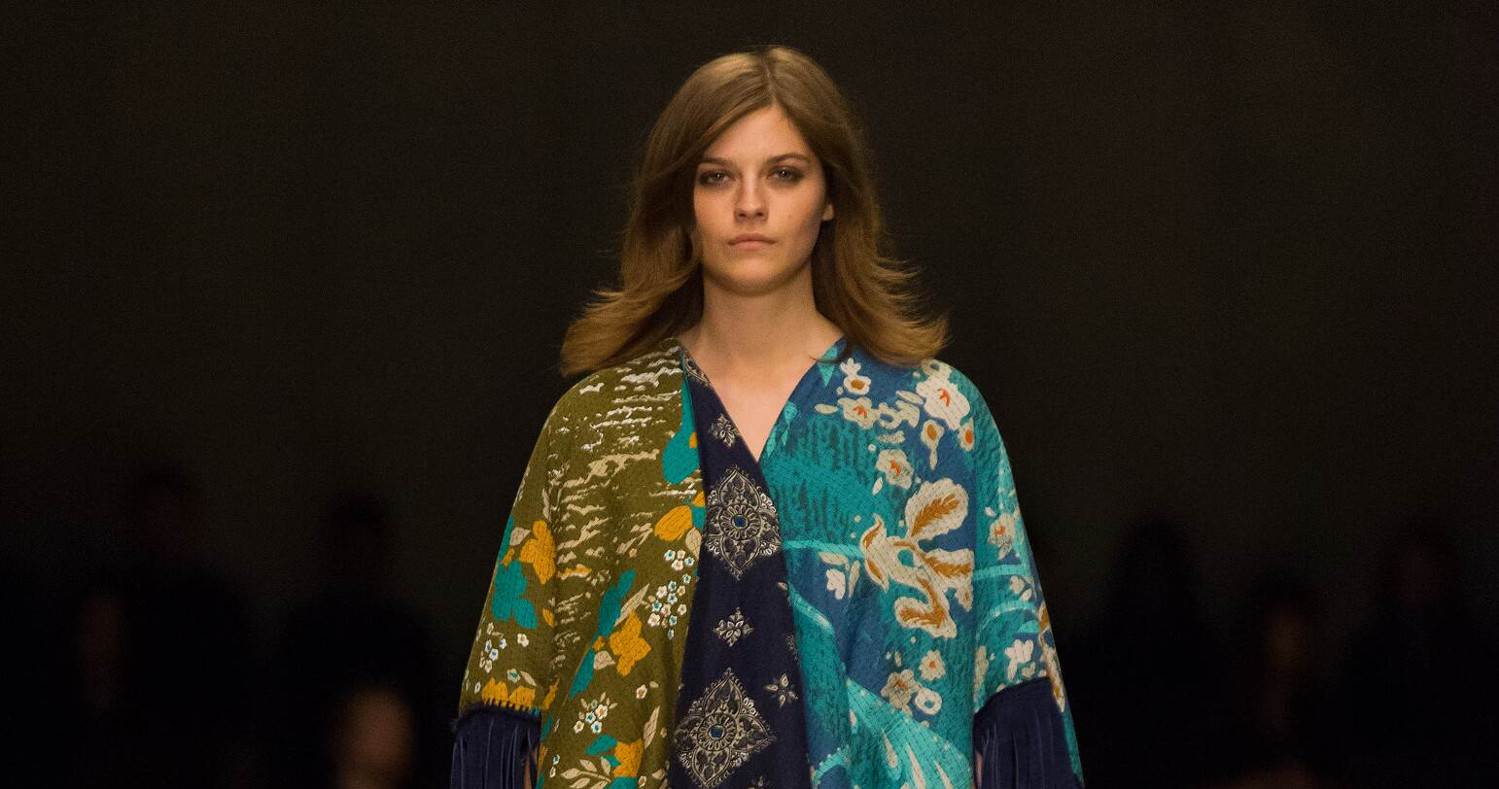Fall Fashion Woman Burberry Prorsum Collection 2015