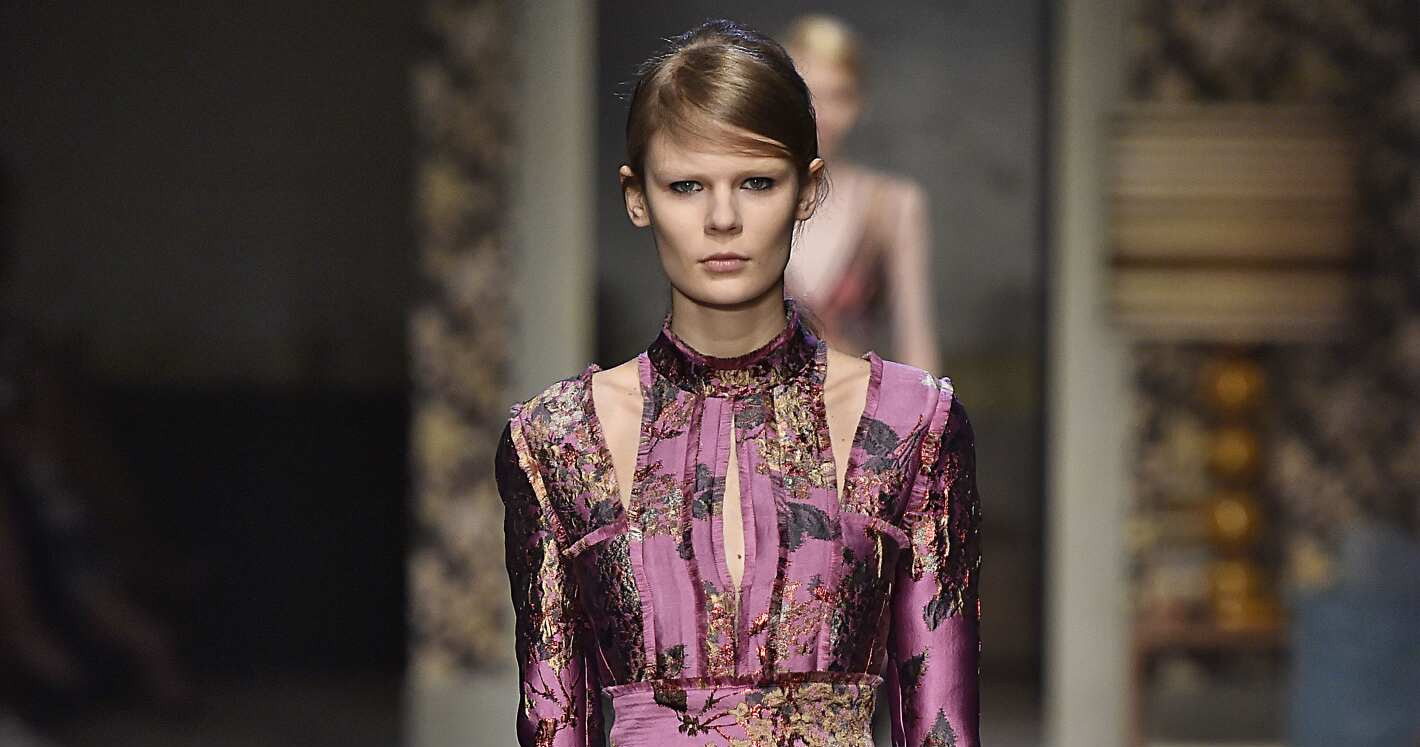 Fall Fashion Woman Erdem Collection 2015