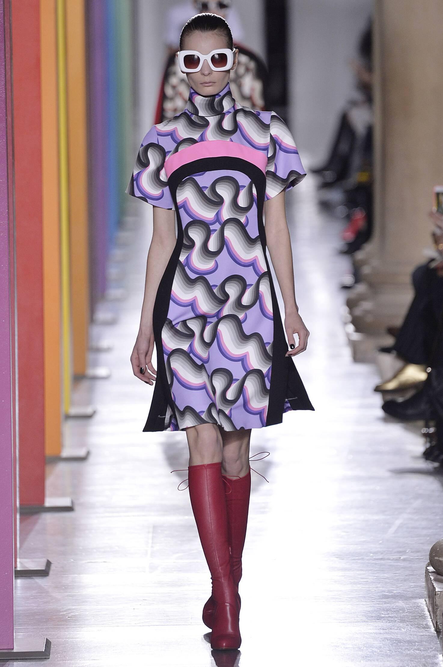 Fall Fashion Woman Jonathan Saunders Collection