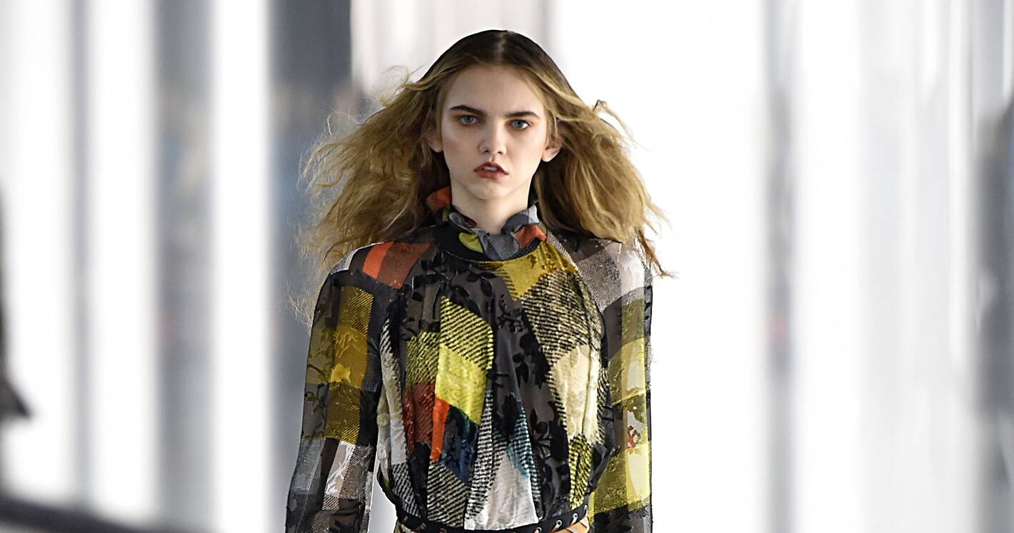 Fall Fashion Woman Preen by Thornton Bregazzi Collection 2015